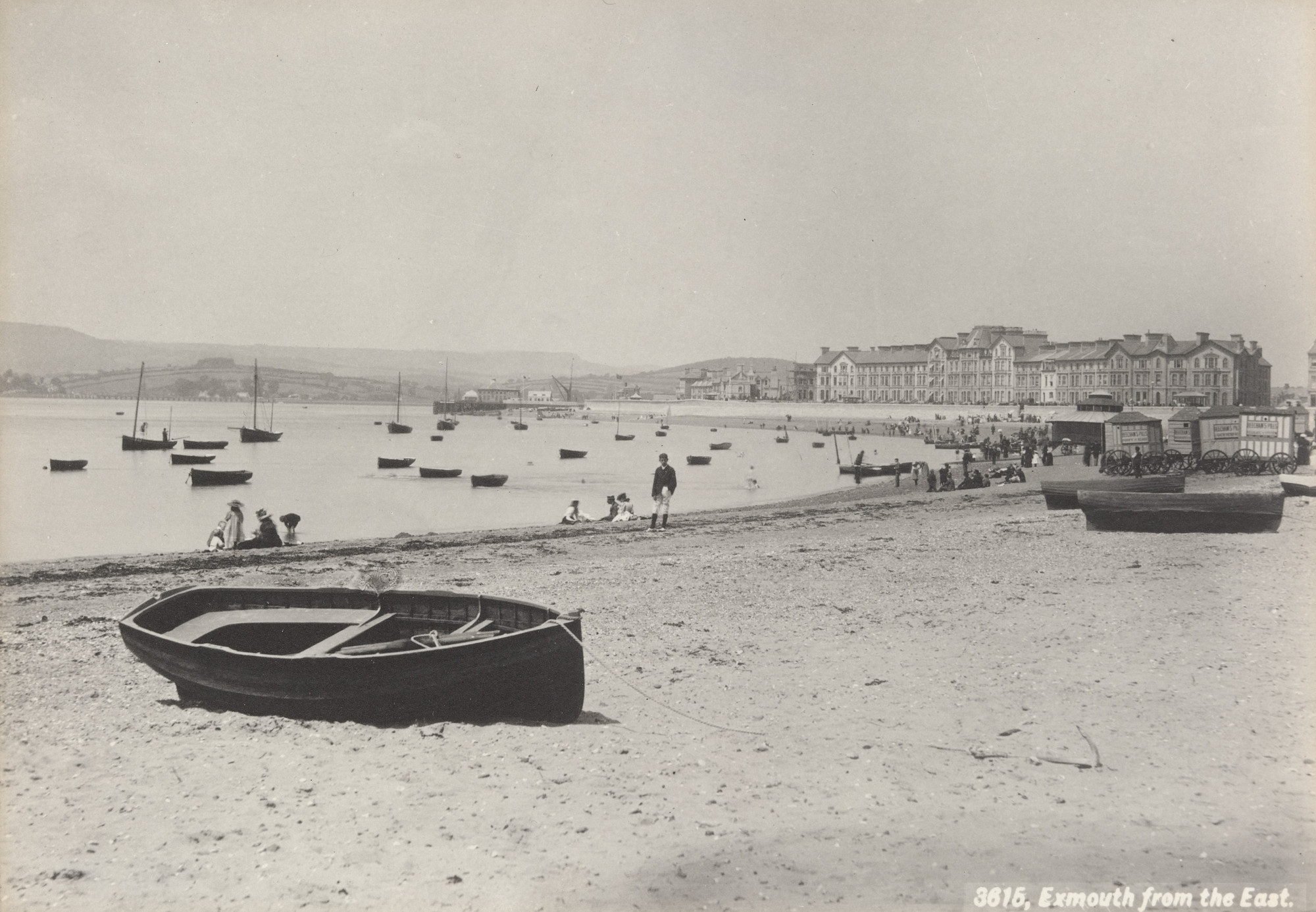 Francis Bedford. Exmouth from the East (No. 3615). c. 1860