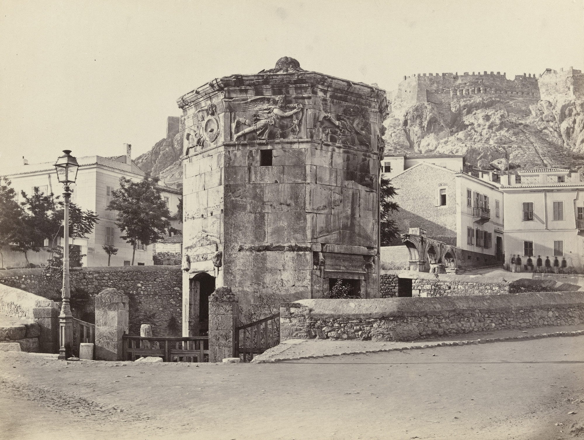 Francis Frith. The Temple of the Winds, Athens (#631). c. 1860
