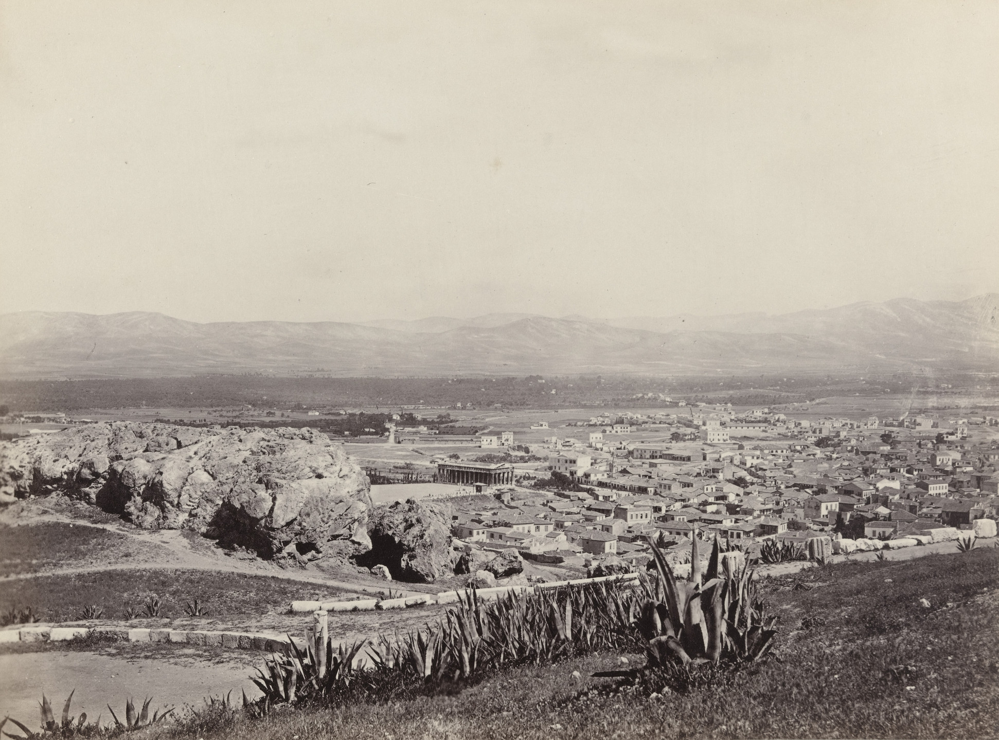 Francis Frith. Athens and Mars' Hill (#621). c. 1860