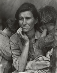 Dorothea Lange. Migrant Mother, Nipomo, California. March 1936