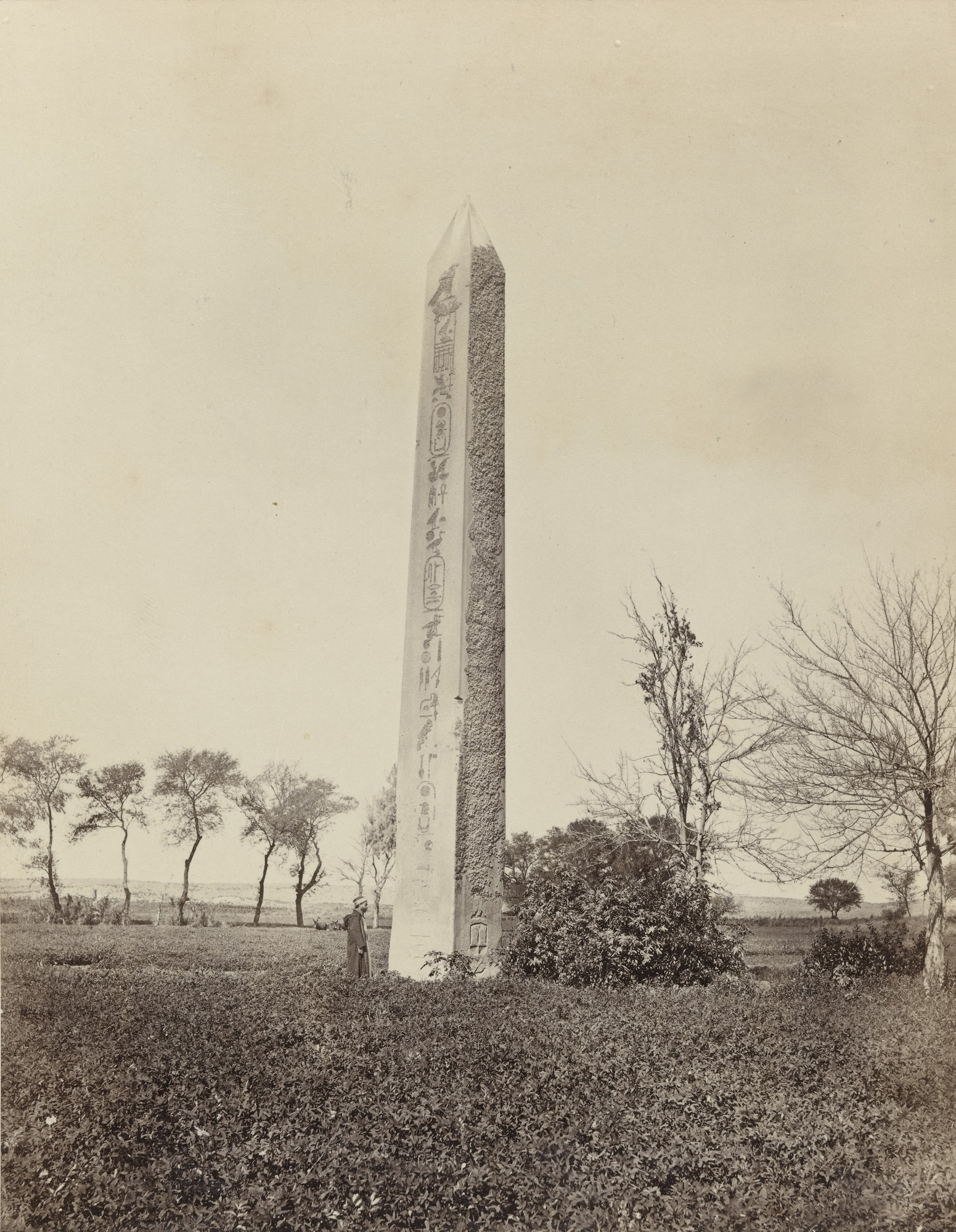 Francis Frith. The Obelisk of On (Heliopolis) (#640). c. 1860