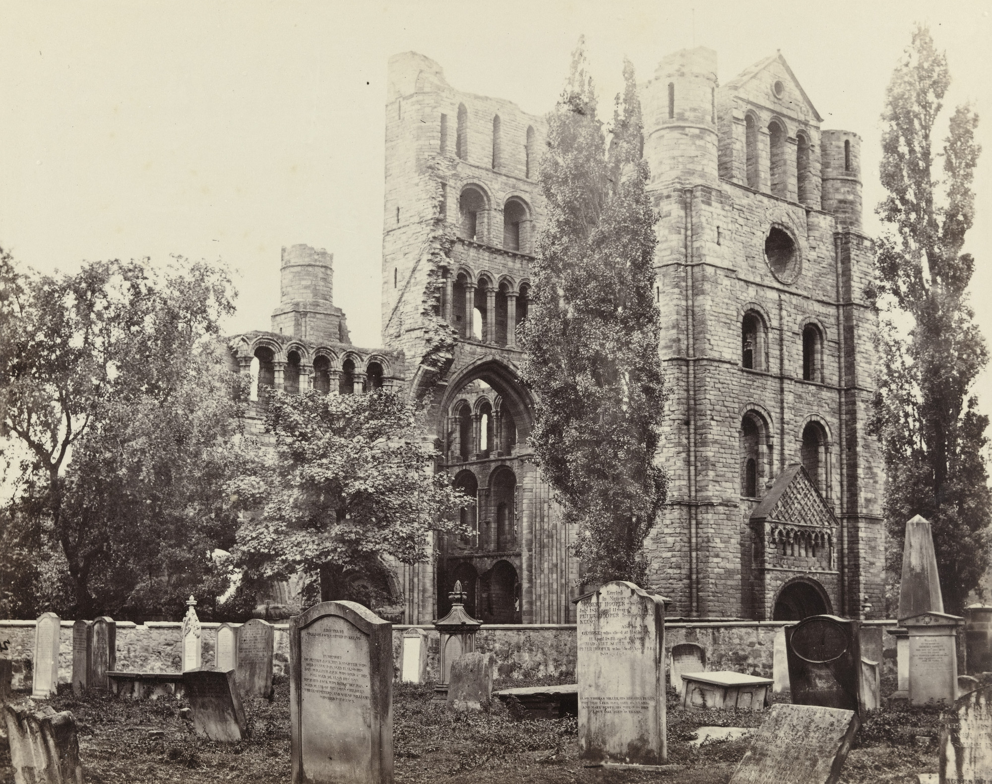 Francis Frith. Kelso Abbey. c. 1860