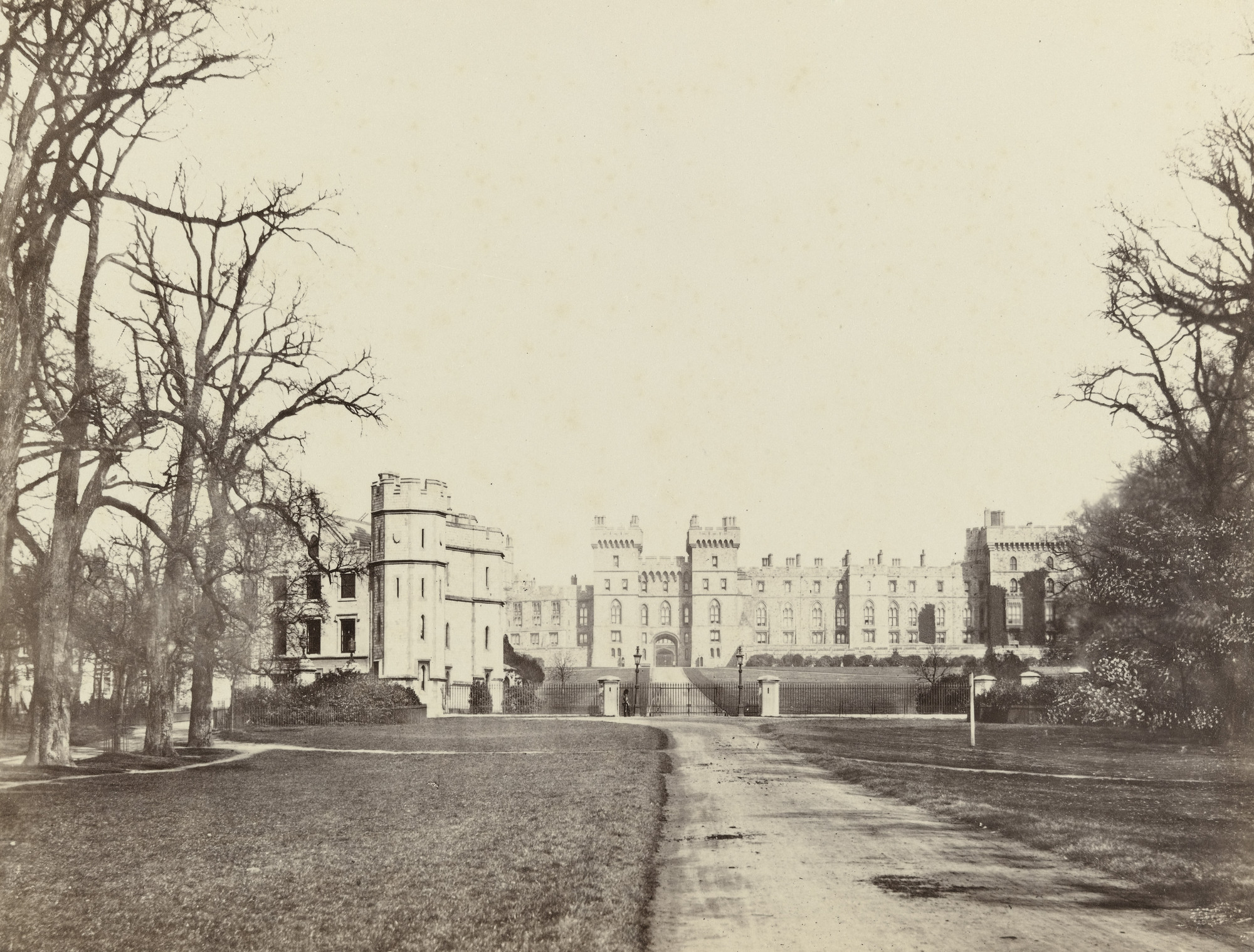 Francis Frith. Windsor Castle, The Approach. c. 1860