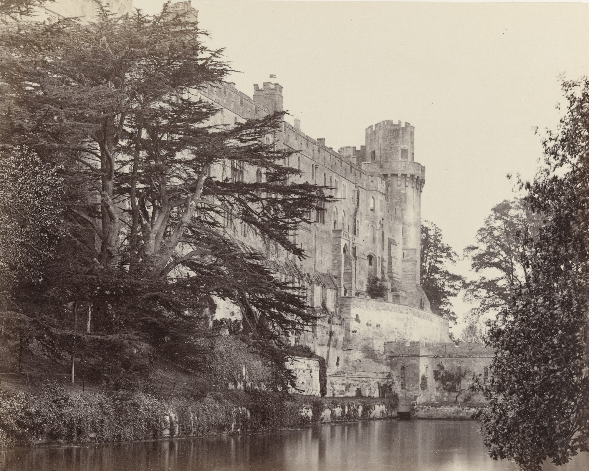 Francis Frith. Warwick Castle. c. 1860
