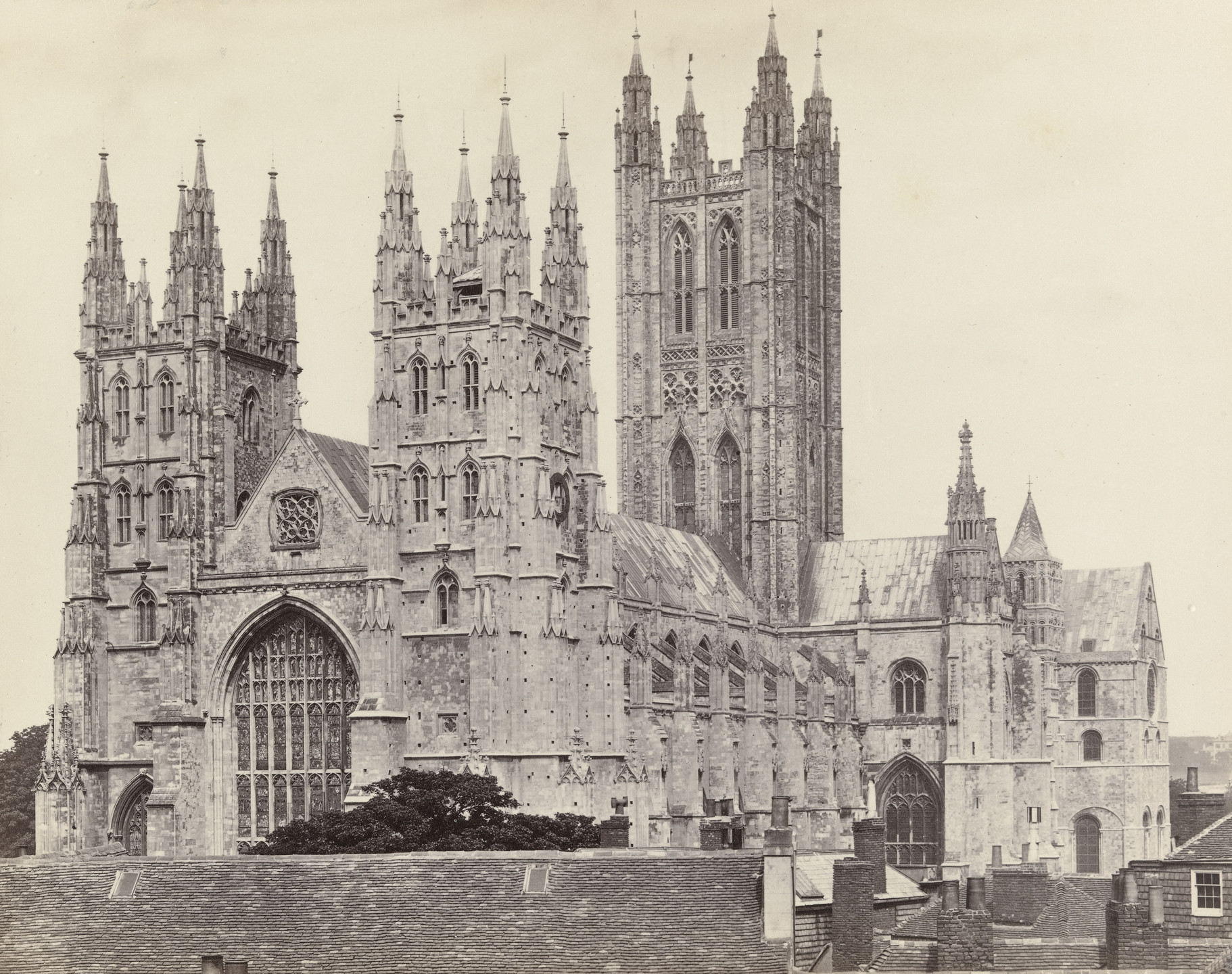 Francis Frith. Canterbury Cathedral. c. 1860