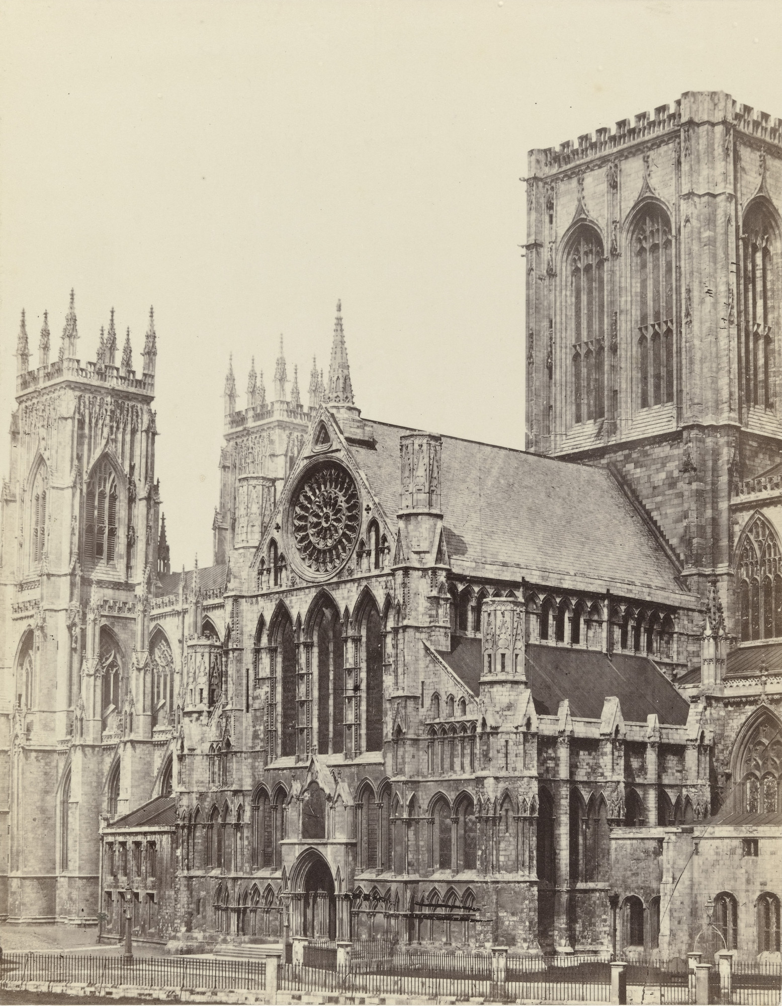 Francis Frith. York Minster, Westfront. c. 1860