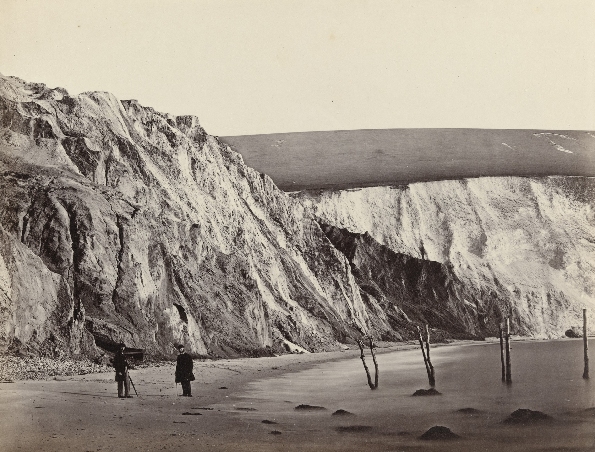 Francis Frith. Alum Bay, Isle of Wight. c. 1860