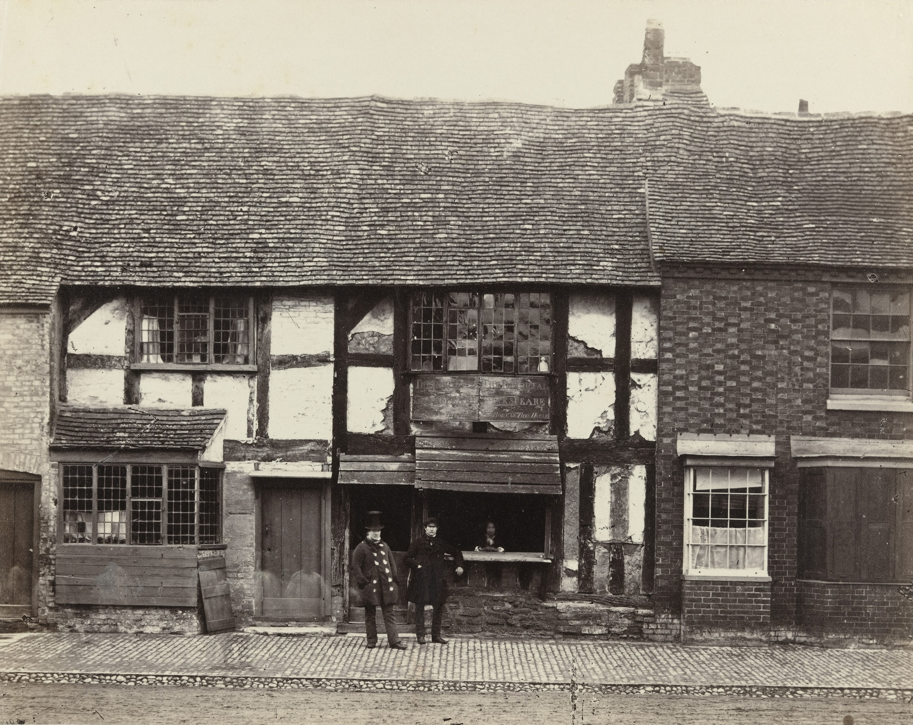 Francis Frith. Shakespeare's House, Stratford-On-Avon. c. 1860