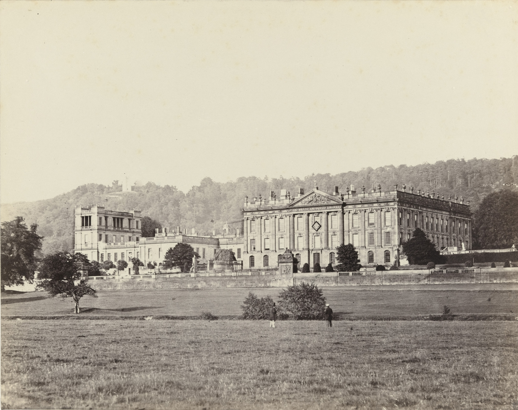 Francis Frith. Chatsworth. c. 1860