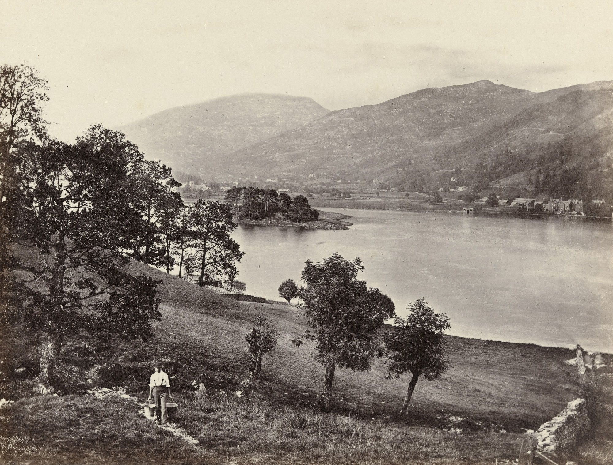 Francis Frith. Grasmere. c. 1860