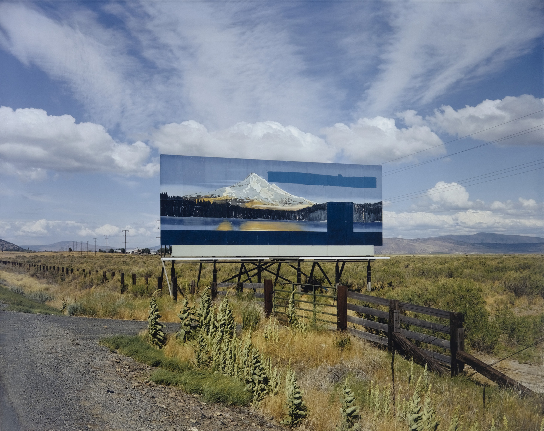 Stephen Shore. U.S. 97, South of Klamath Falls, Oregon, July 21, 1973. 1973