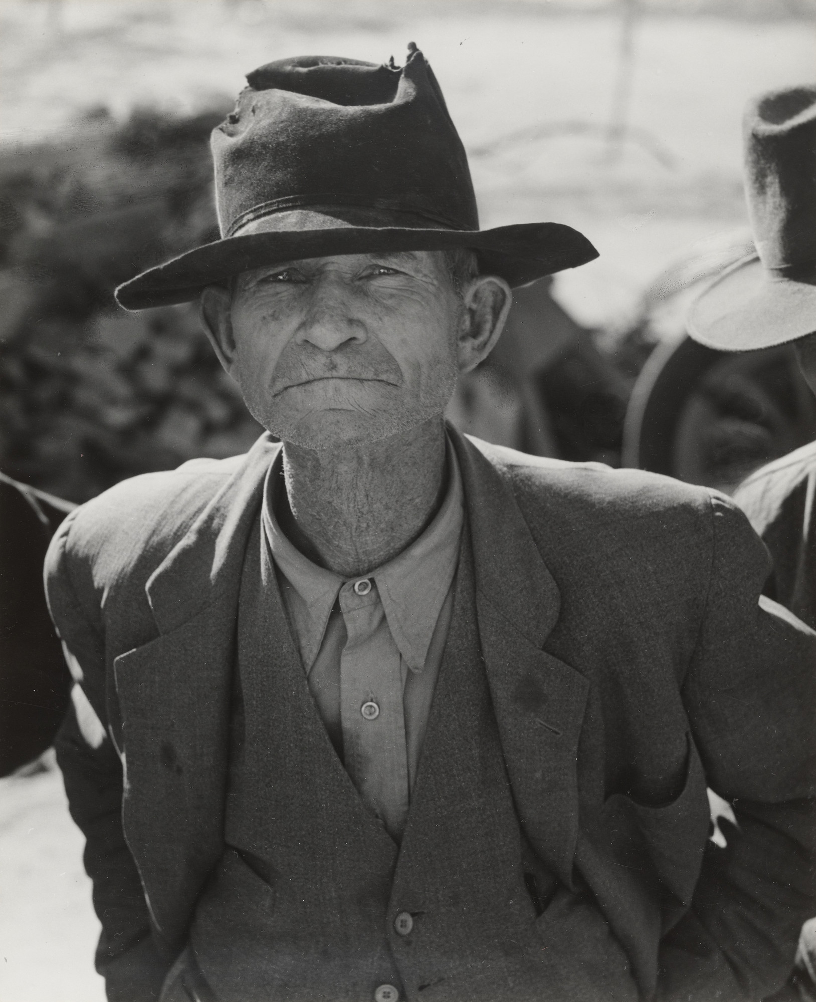 Dorothea Lange. Ex-Tenant Farmer on Relief Grant in the Imperial Valley, California. March 1937