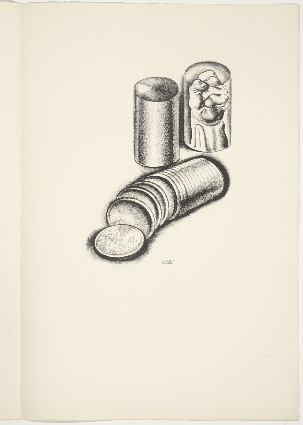 Hugo Gellert. Plate (folio 56) from 'Capital' in Pictures. 1933