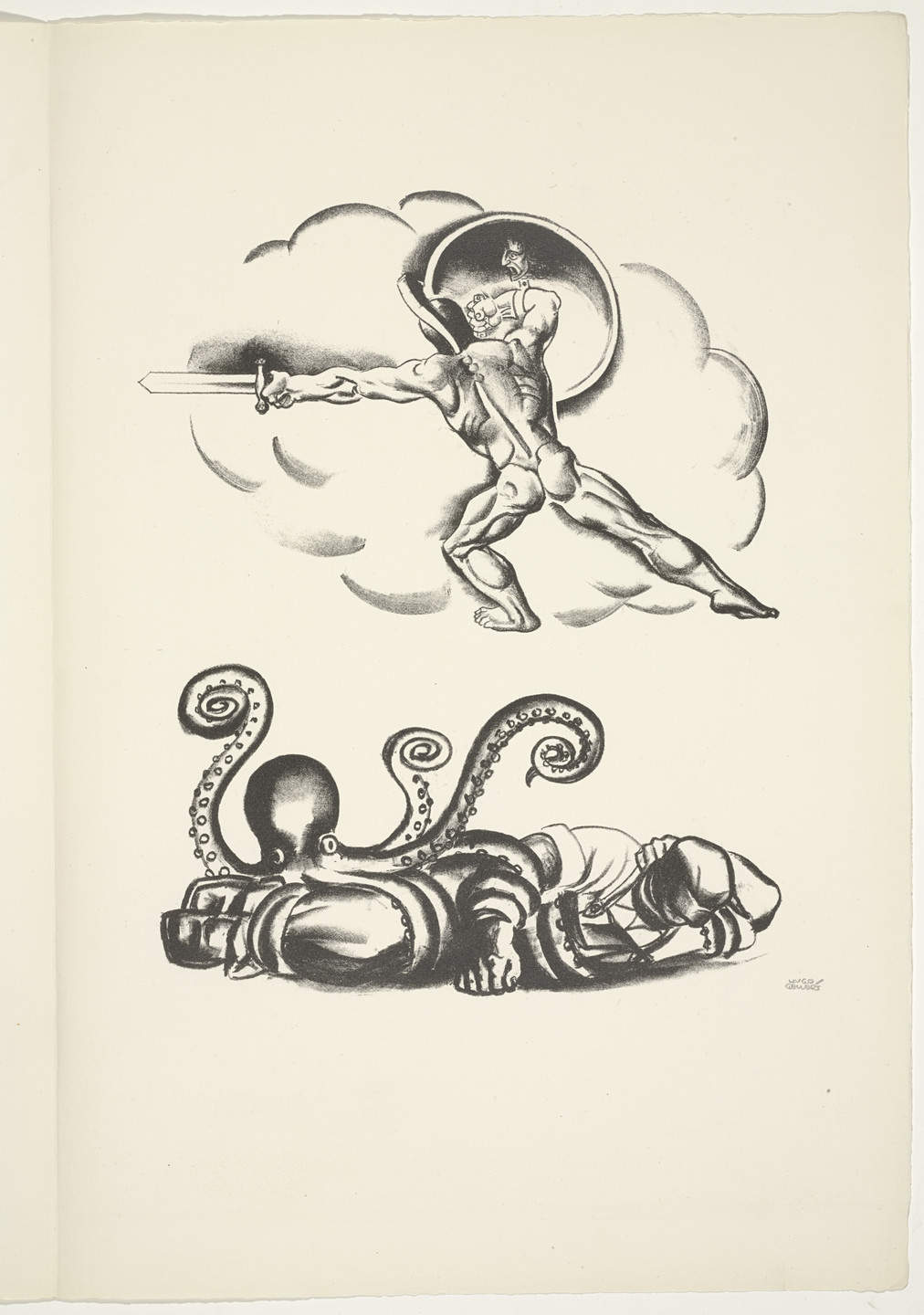 Hugo Gellert. Plate (folio 8) from 'Capital' in Pictures. 1933