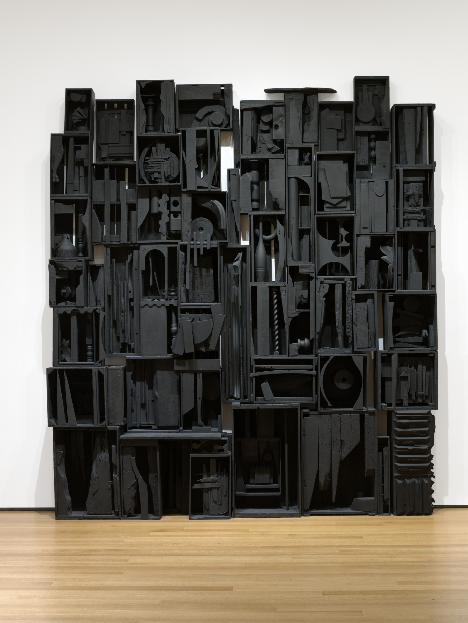 Louise Nevelson. Sky Cathedral. 1958