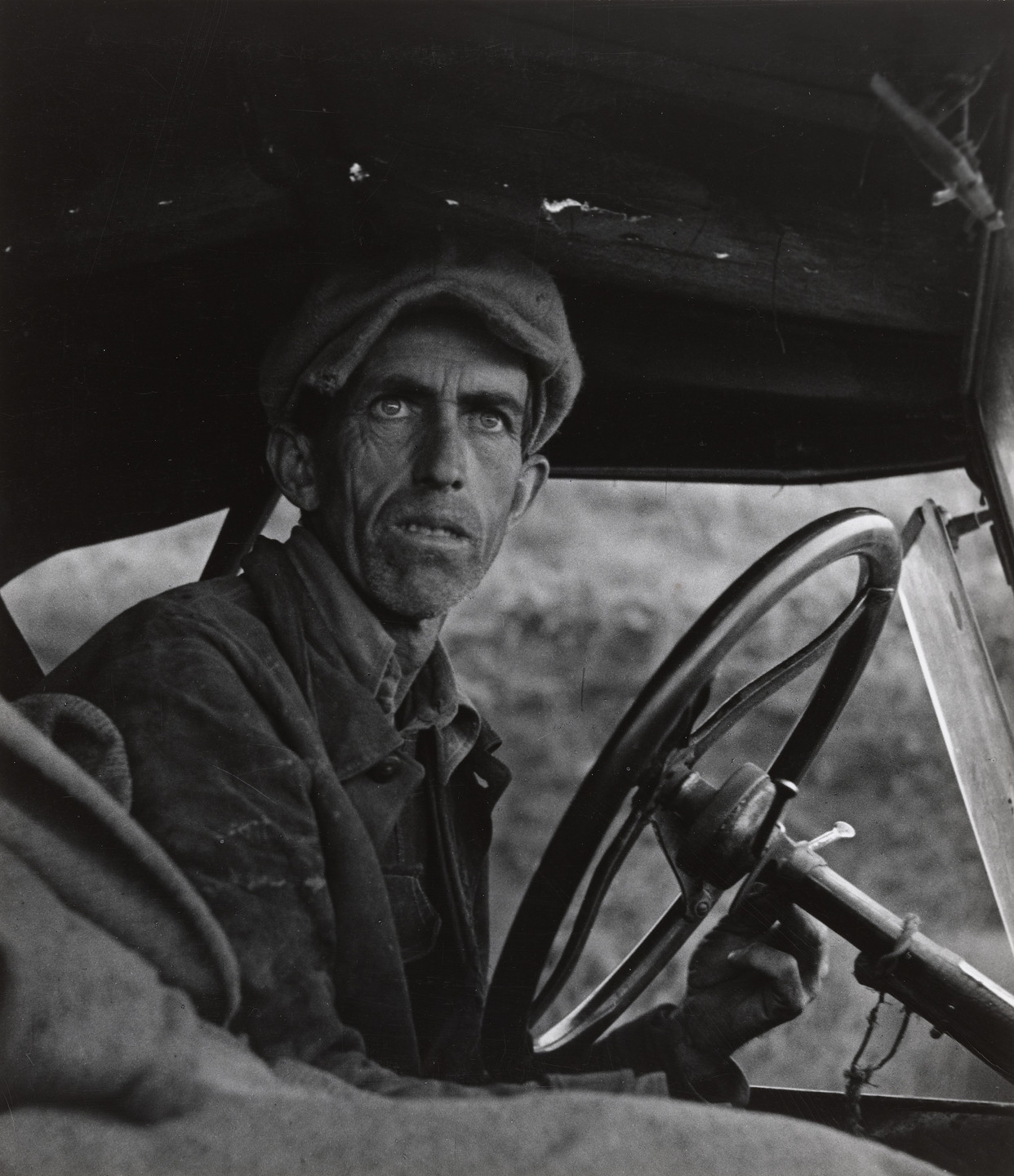 Dorothea Lange. Ditched, Stalled and Stranded, San Joaquin Valley, California. February 1936