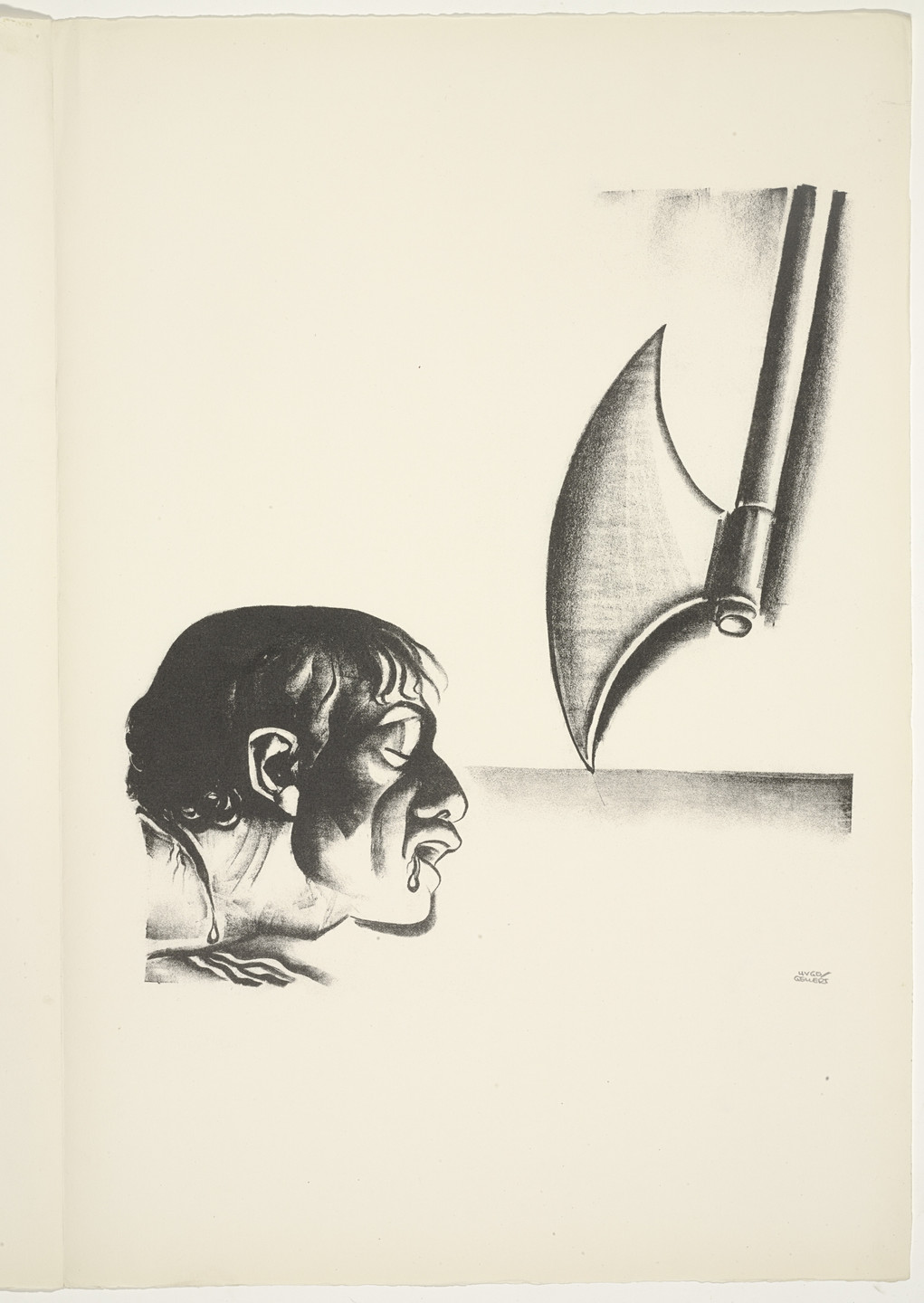 Hugo Gellert. Plate (folio 24) from 'Capital' in Pictures. 1933