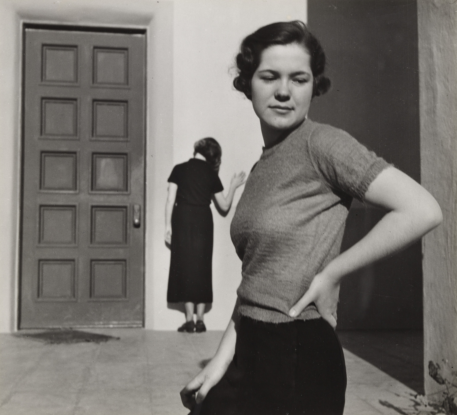 John Gutmann. Shrug of the Shoulder. 1935