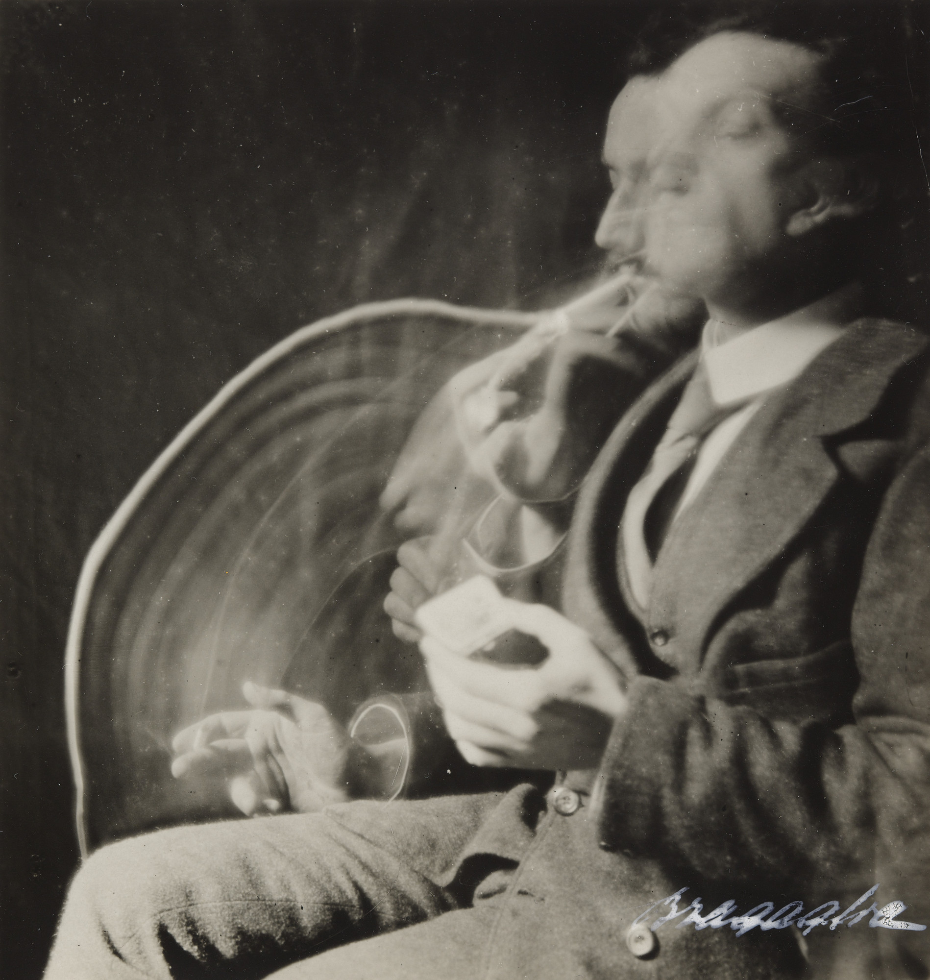 Anton Giulio Bragaglia, Arturo Bragaglia. The Smoker–The Match–The Cigarette. 1911