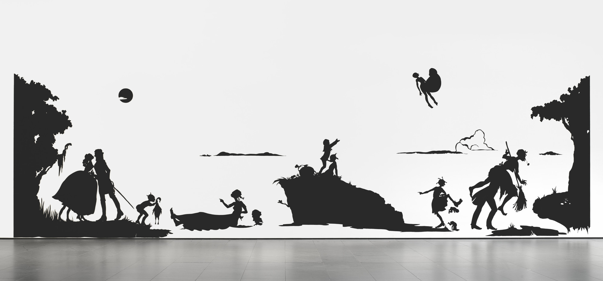 Kara Walker. Gone: An Historical Romance of a Civil War as It Occurred b'tween the Dusky Thighs of One Young Negress and Her Heart. 1994