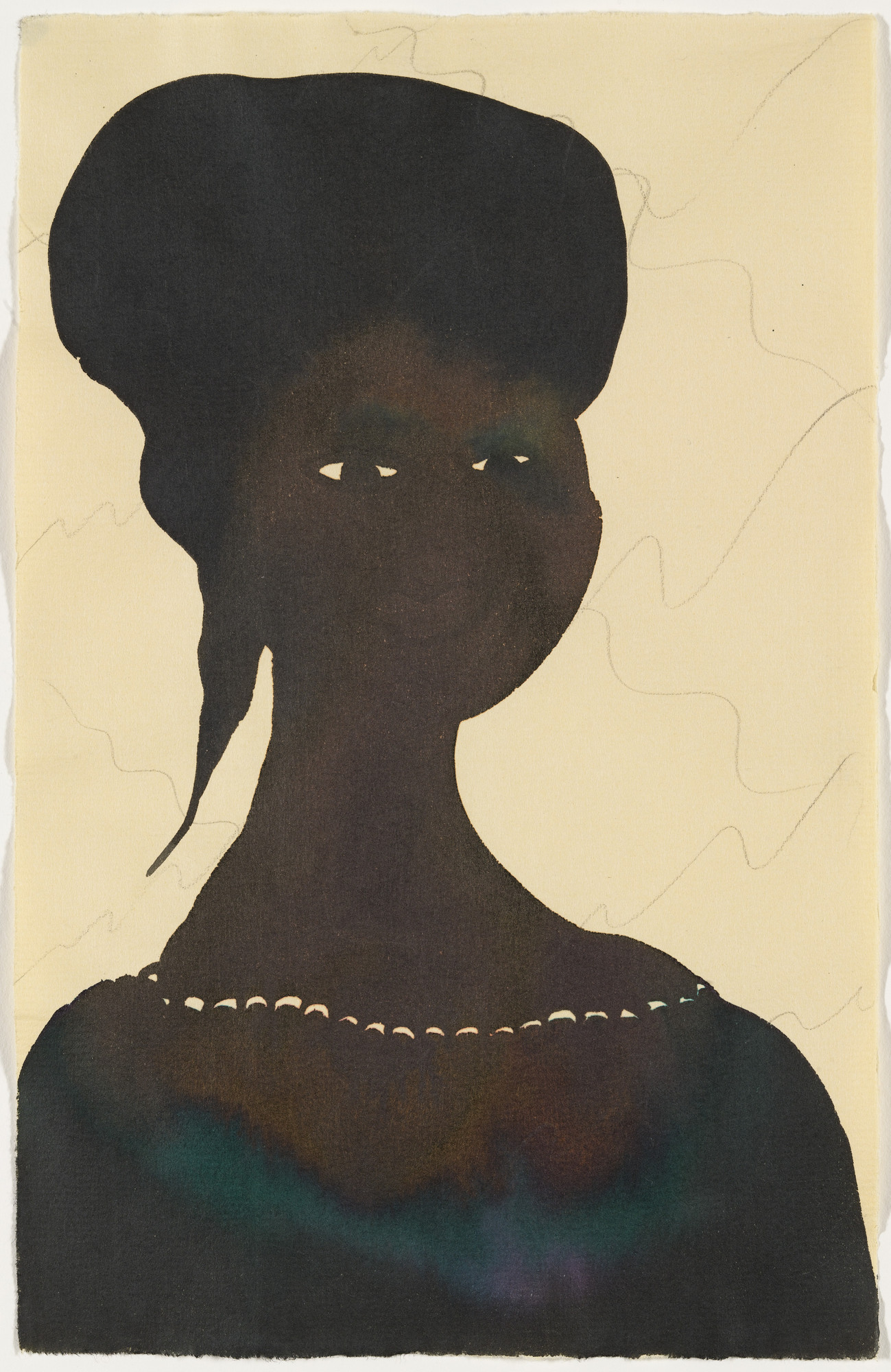 Chris Ofili. Untitled. 1998