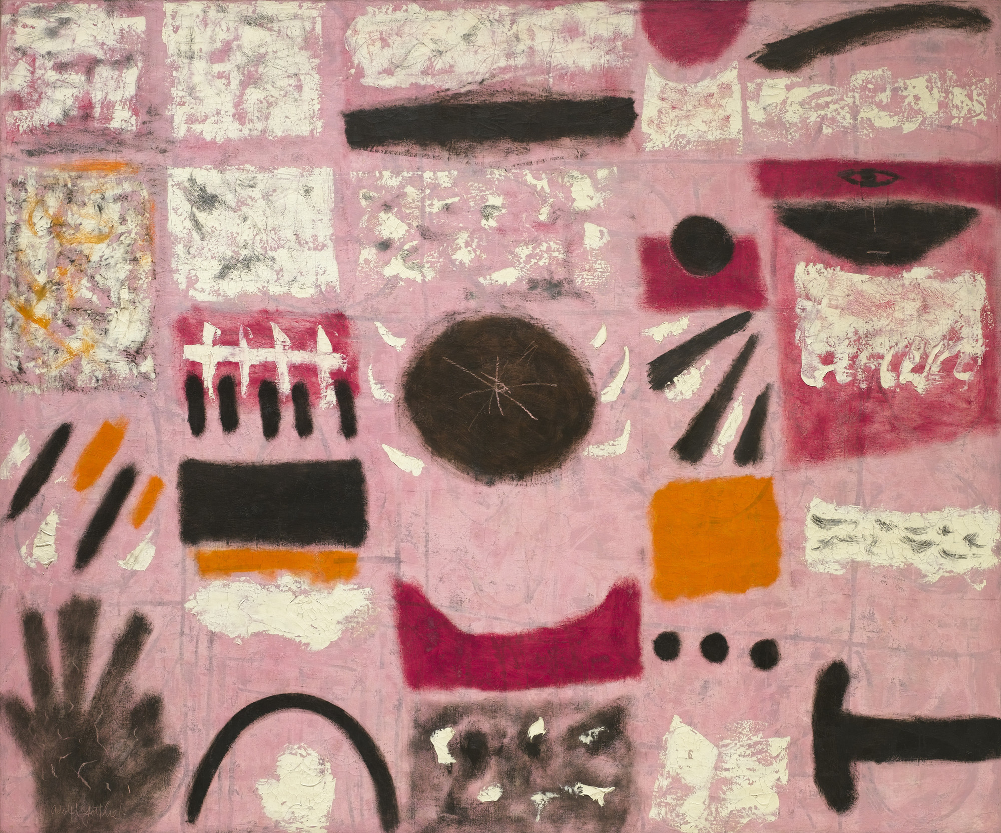 Adolph Gottlieb. Tournament. 1951