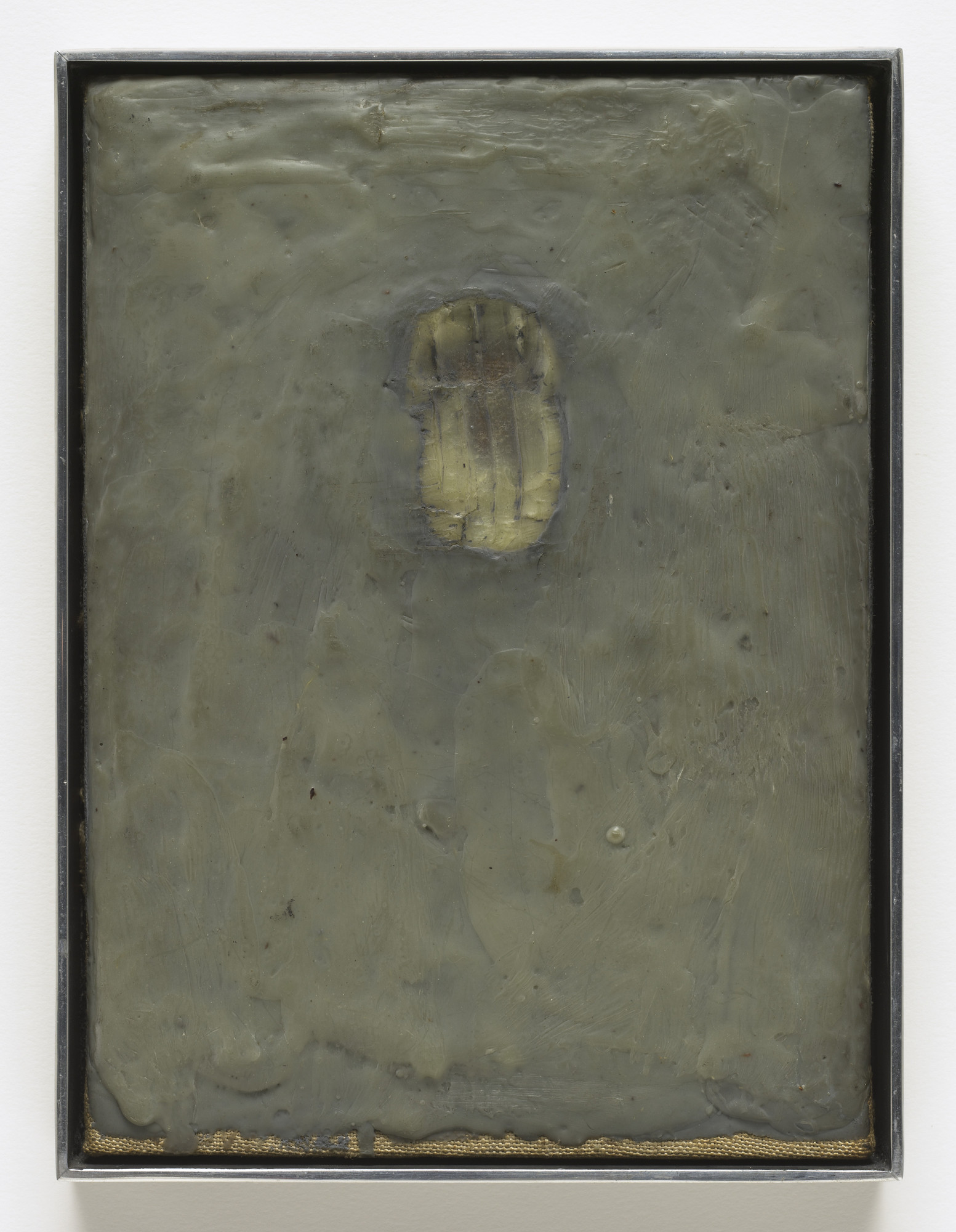 Jasper Johns. Painting Bitten by a Man. 1961