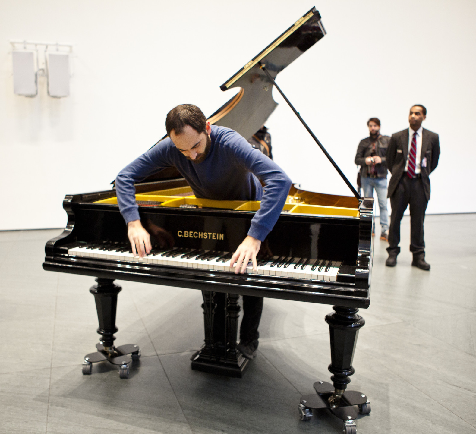 Jennifer Allora, Guillermo Calzadilla. Stop, Repair, Prepare: Variations on Ode to Joy for a Prepared Piano, No.1. 2008