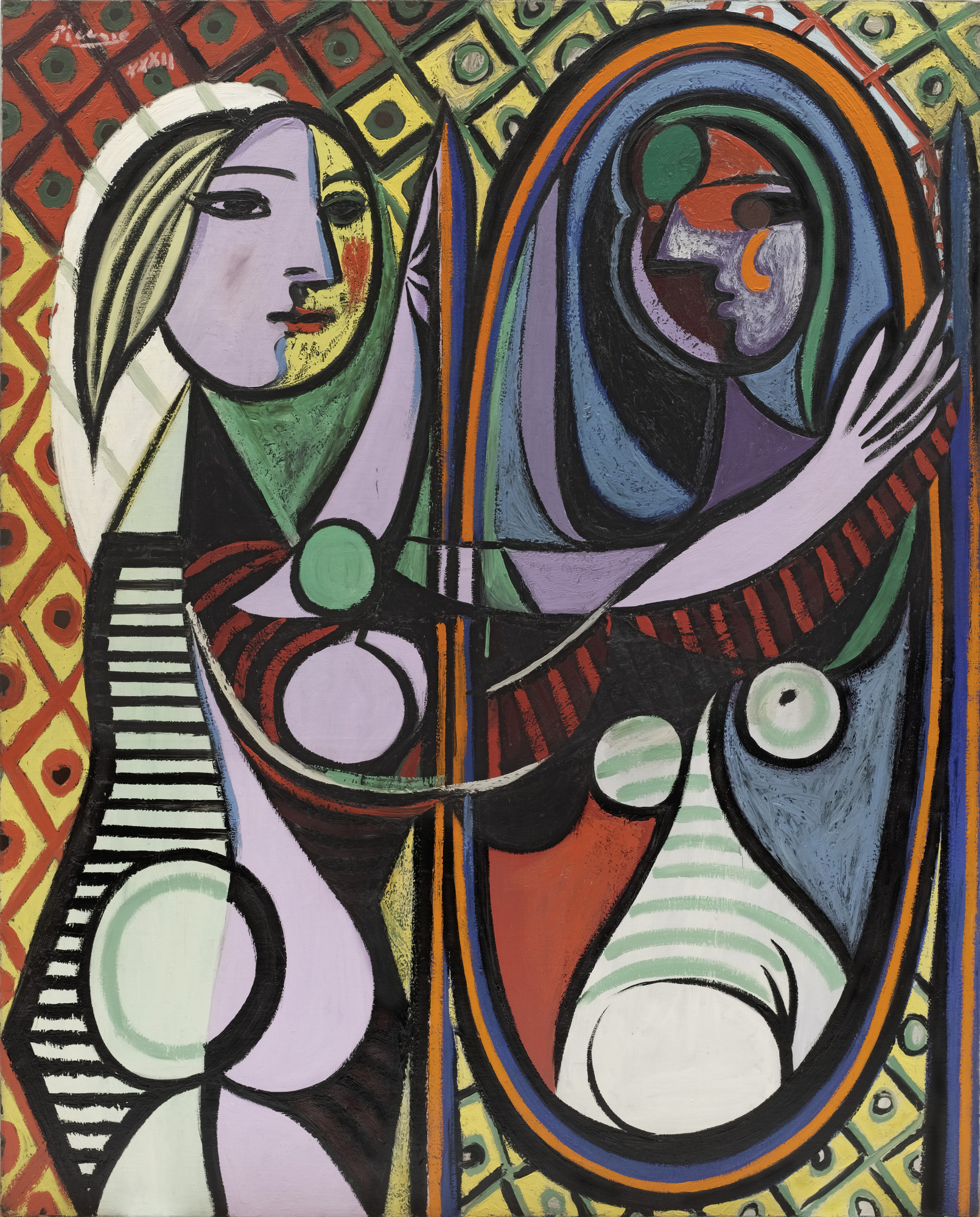 girl before a mirror Pablo Picasso. Girl before a Mirror. Paris, March 14, 1932 | MoMA girl before a mirror