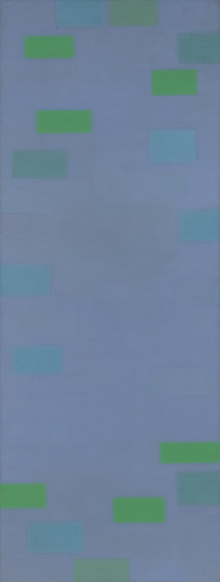 Ad Reinhardt. Abstract Painting (Blue). 1952