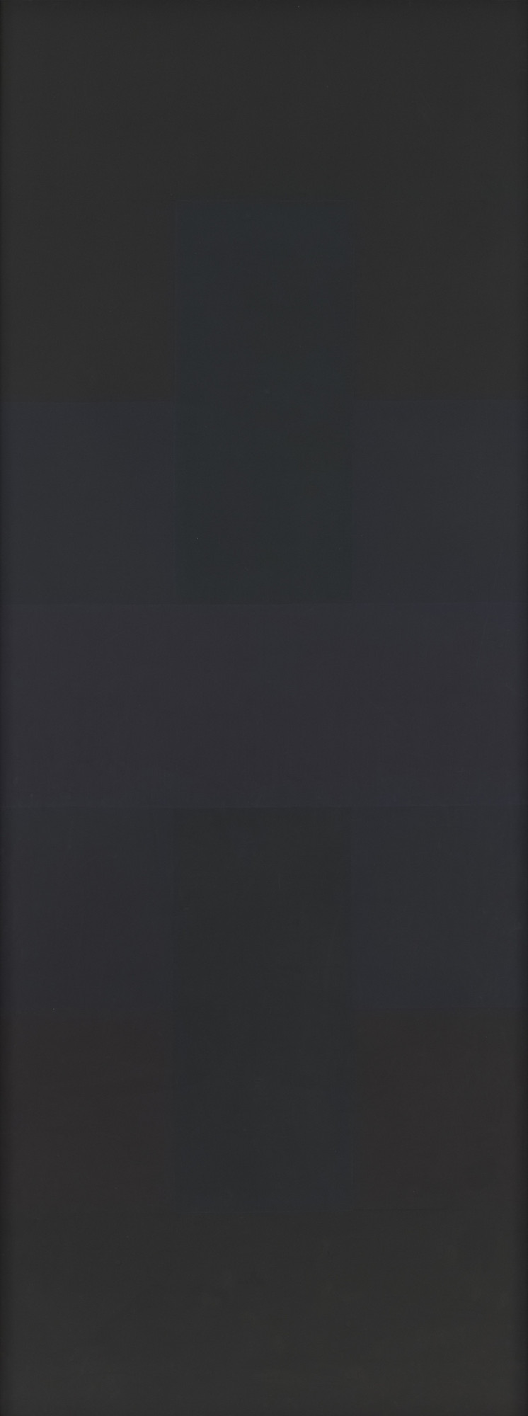 Ad Reinhardt. Abstract Painting. 1957