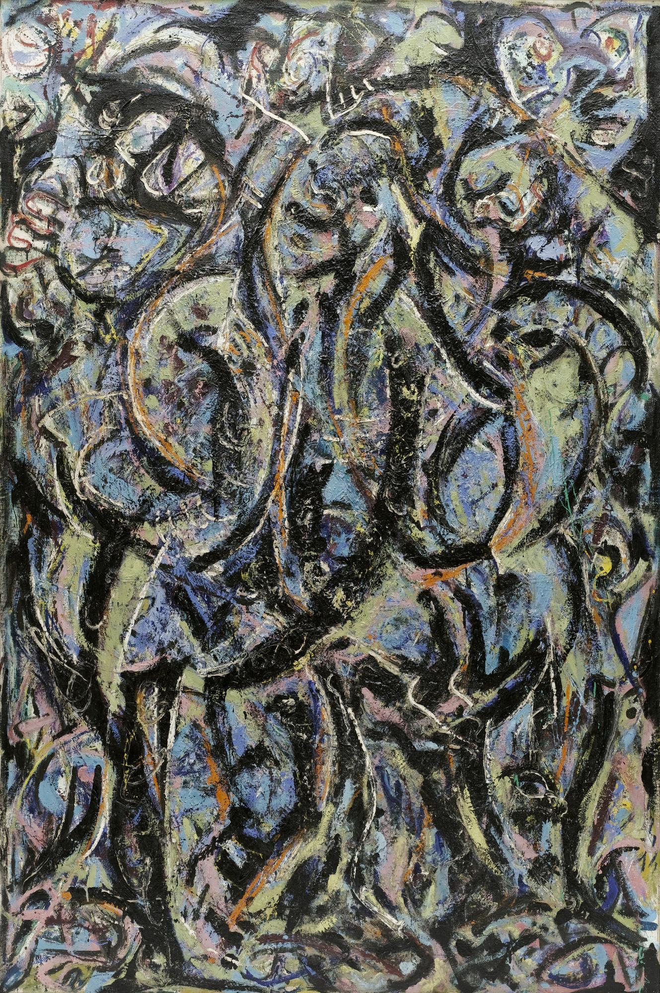 Jackson Pollock Gothic 1944