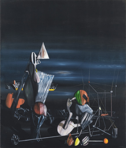 Yves Tanguy. Slowly Toward the North. 1942