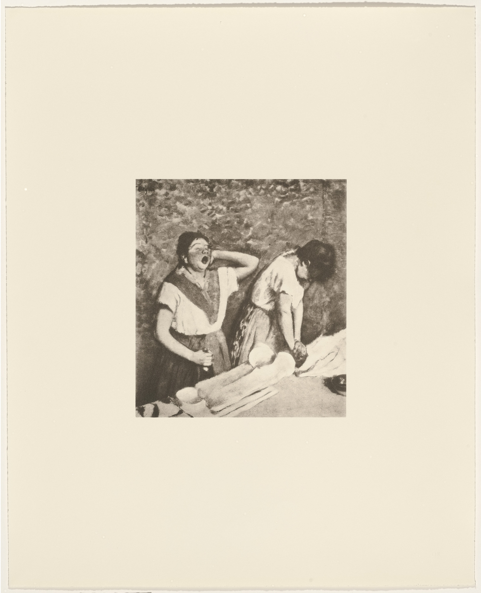 Sherrie Levine. Untitled from After Edgar Degas. 1987