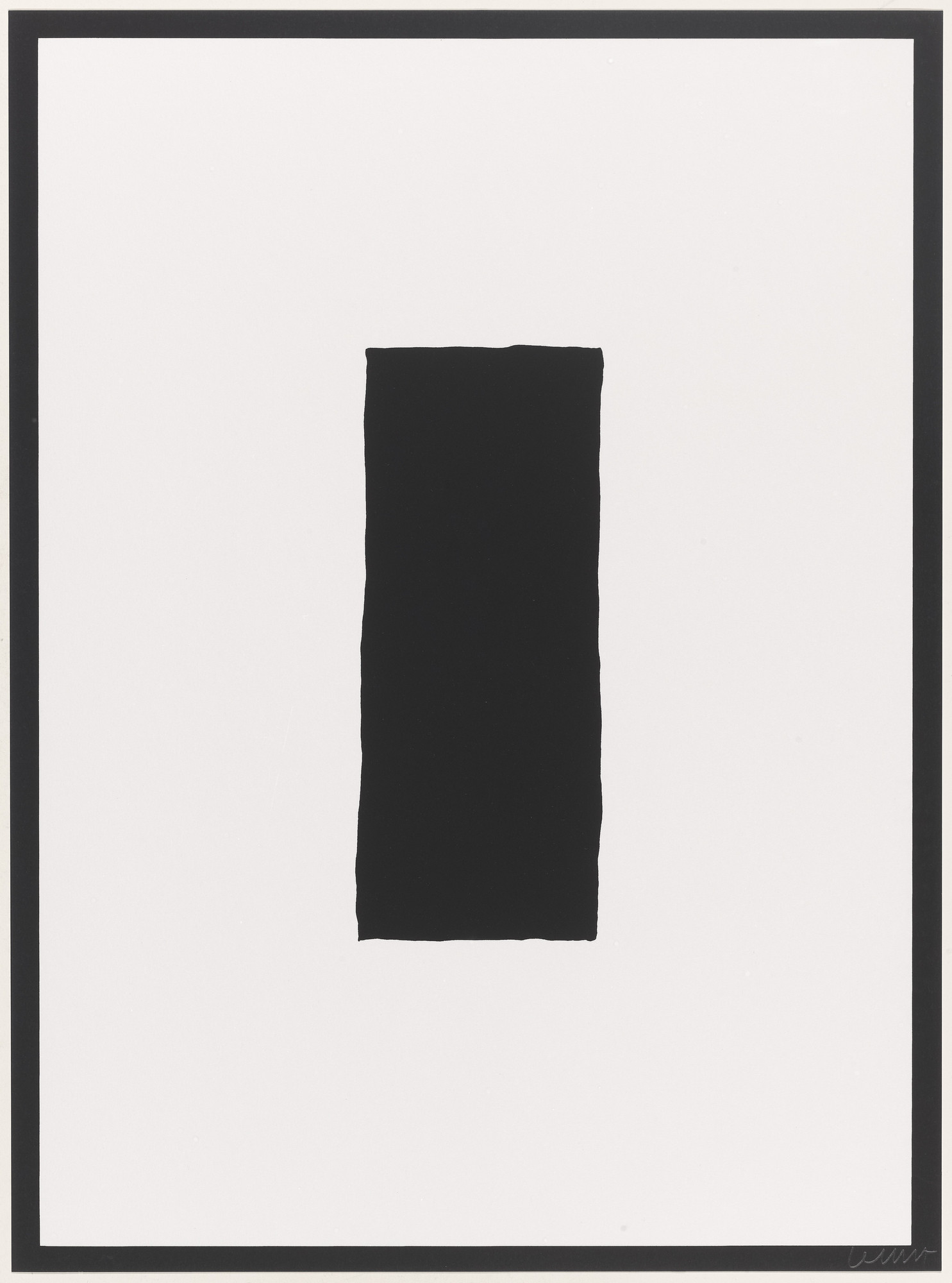 Sol LeWitt. Untitled from Vanish. 1994