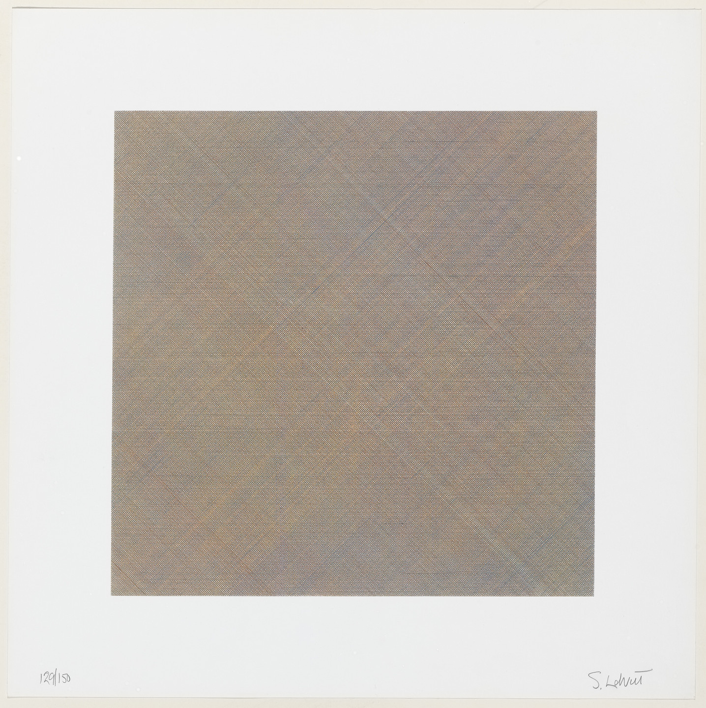Sol LeWitt. Untitled from Composite Series. 1970