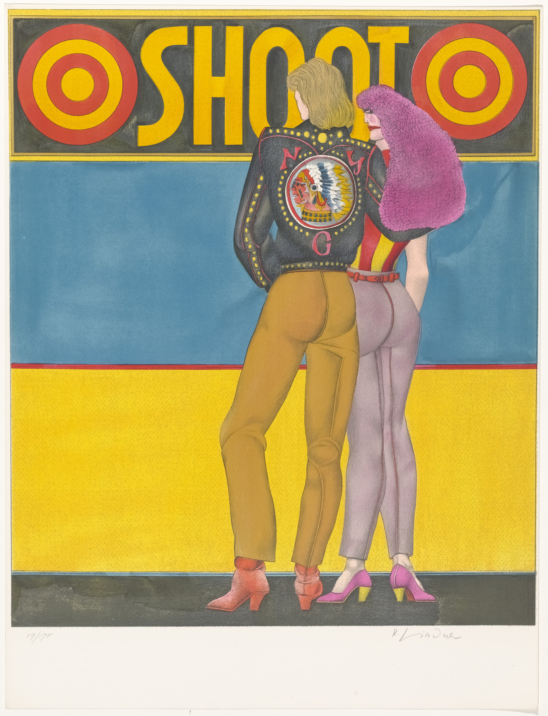 Richard Lindner. Shoot from Fun City. 1971