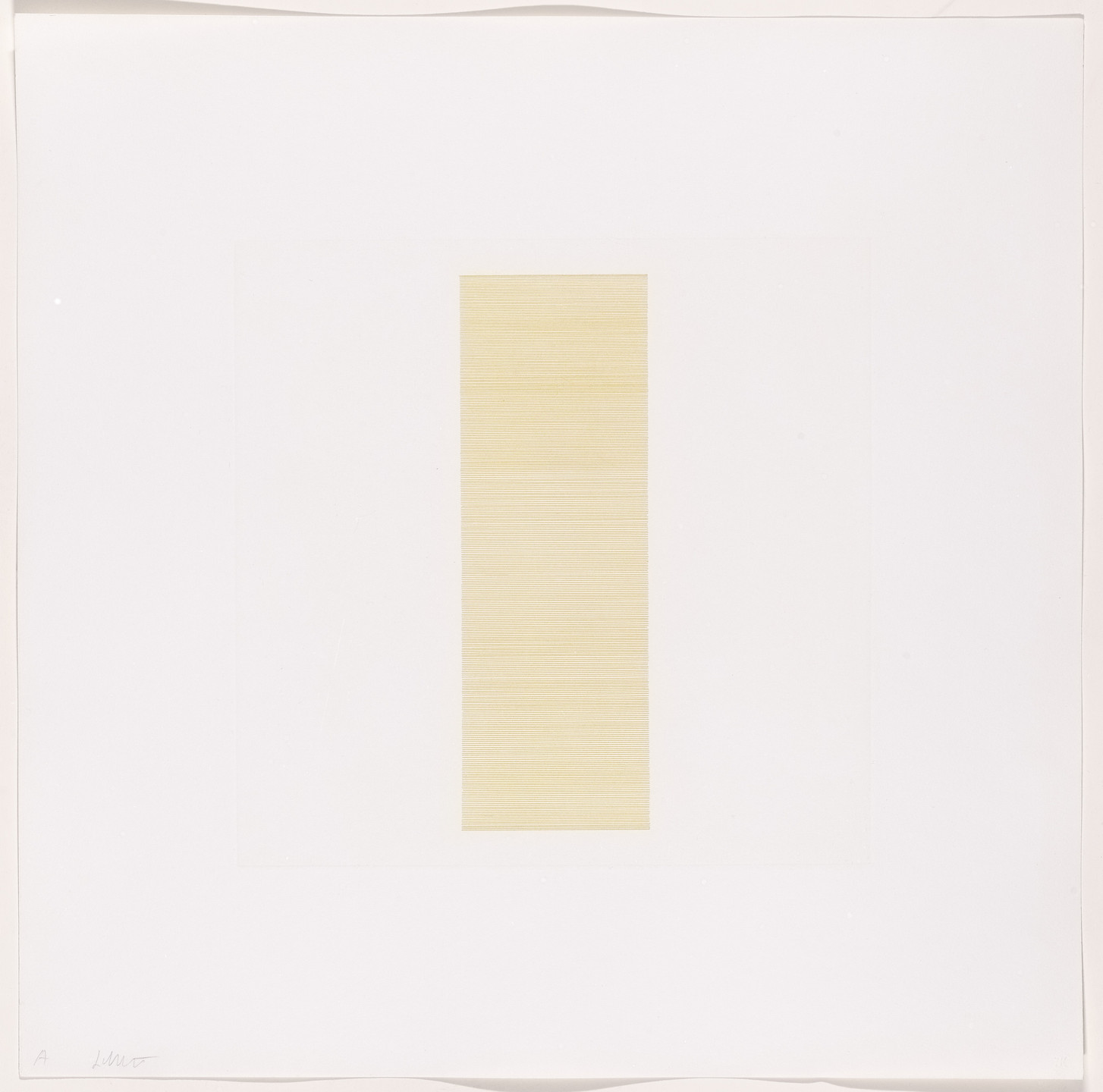 Sol LeWitt. Bands of Color in Four Directions & All Combinations. 1971