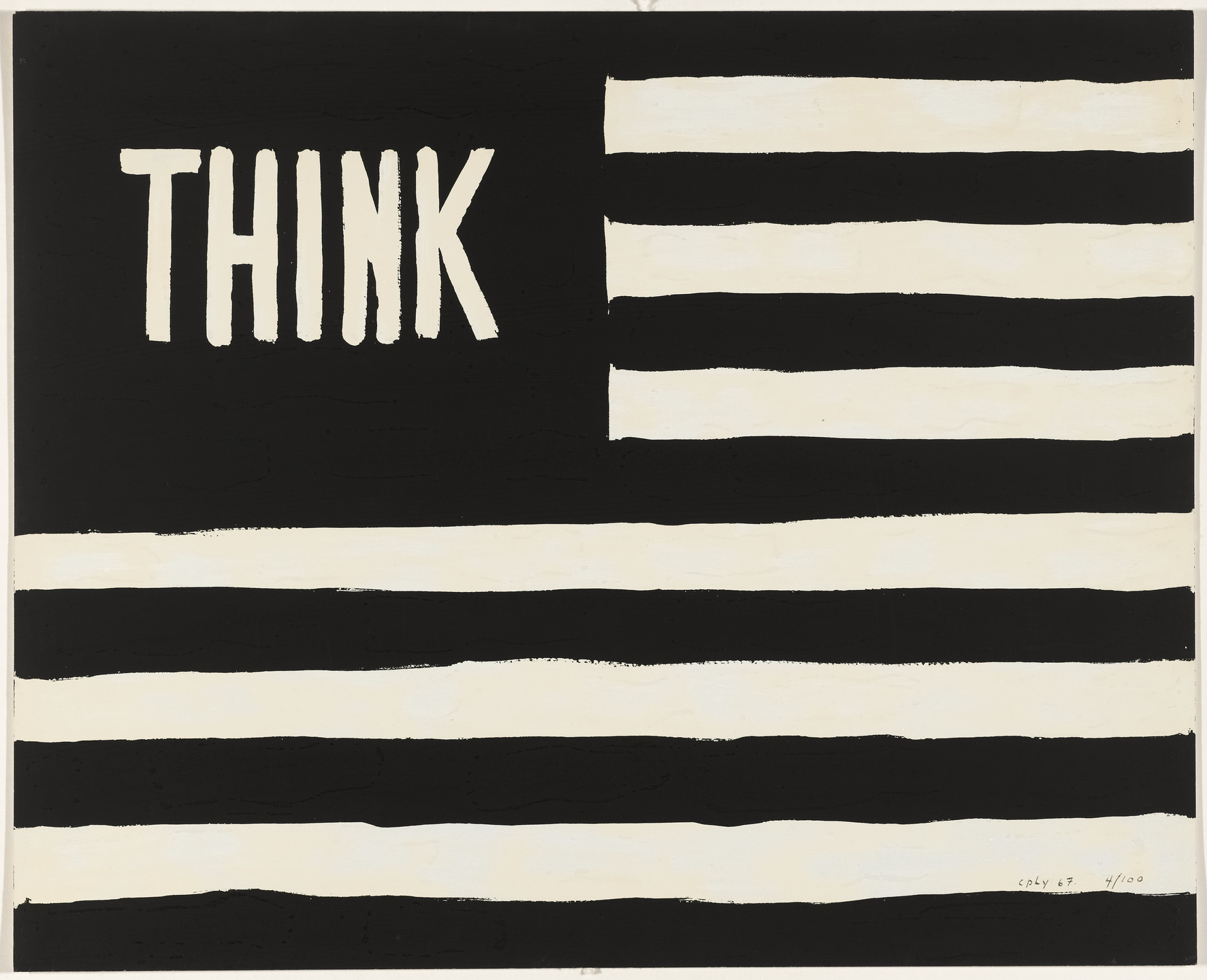 William Copley. Untitled from Artists and Writers Protest against the War in Vietnam. 1967