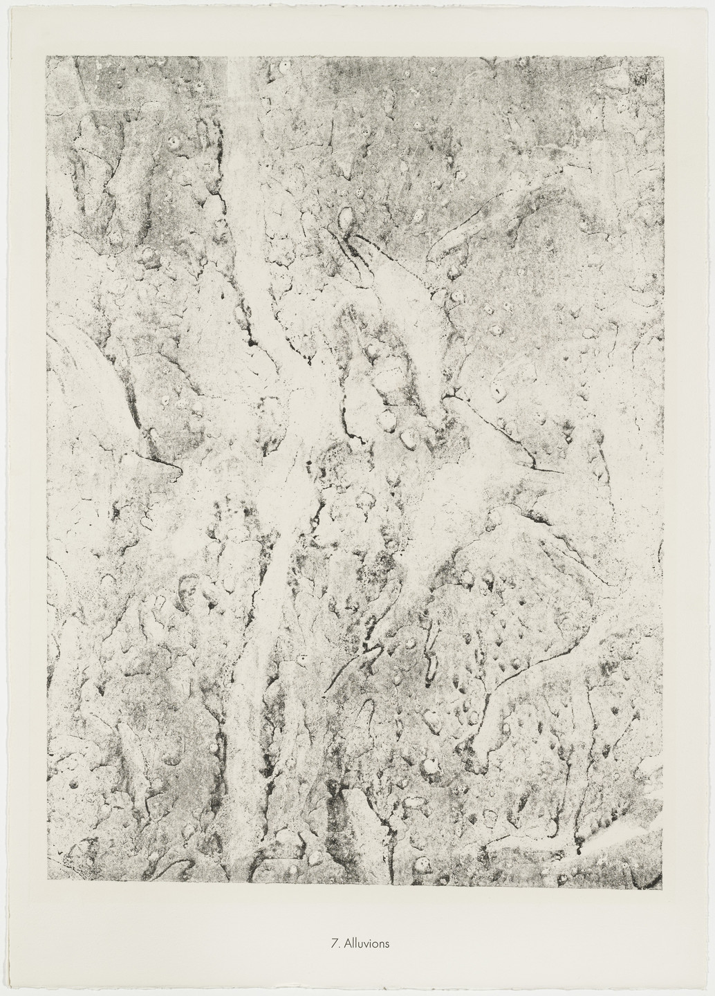 Jean Dubuffet. Alluvium (Alluvions) from the portfolio Soil, Earth (Sols, terres) from Phenomena (Les Phénomènes). 1959