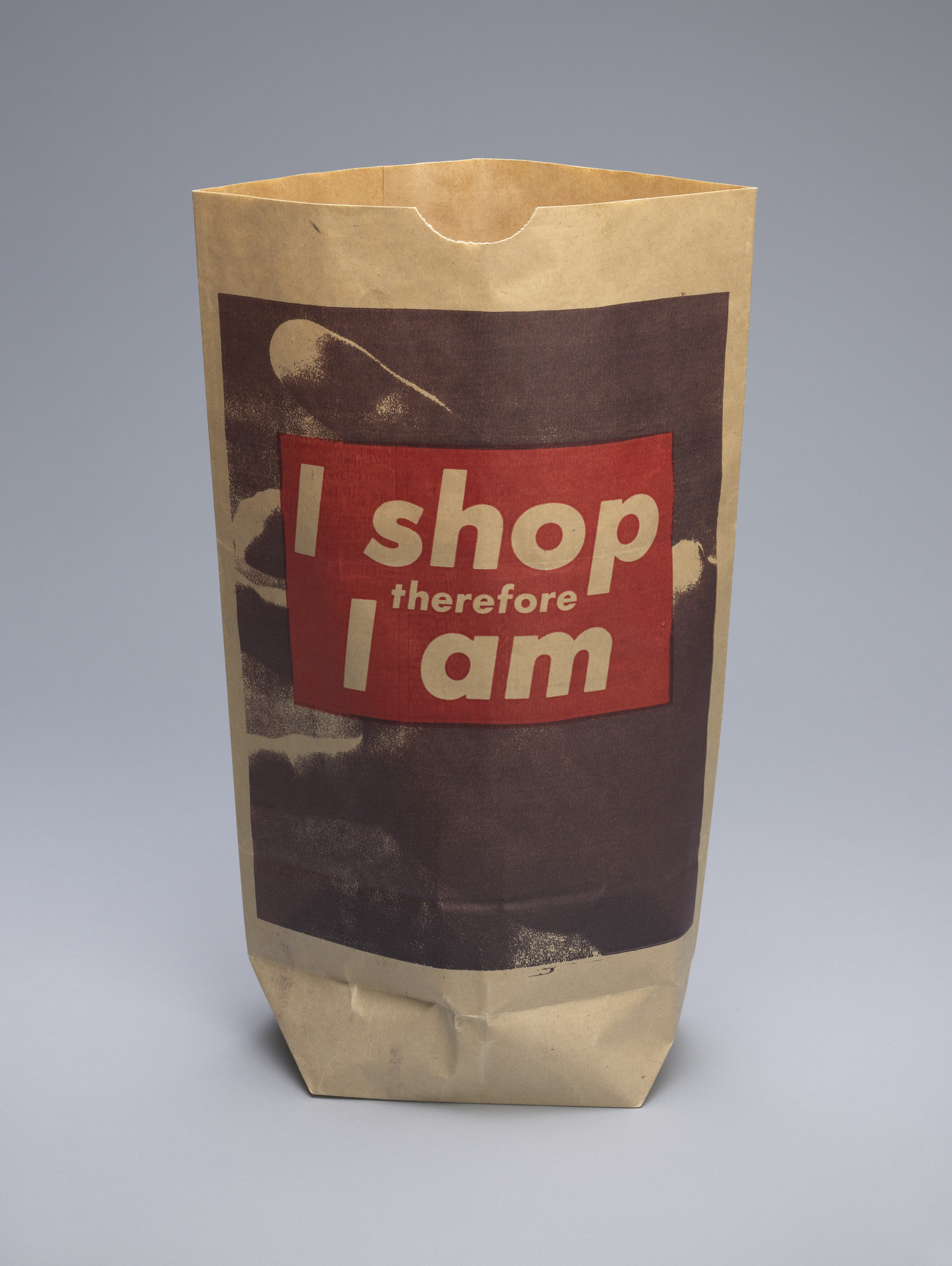 Barbara Kruger. I shop therefore I am. 1990