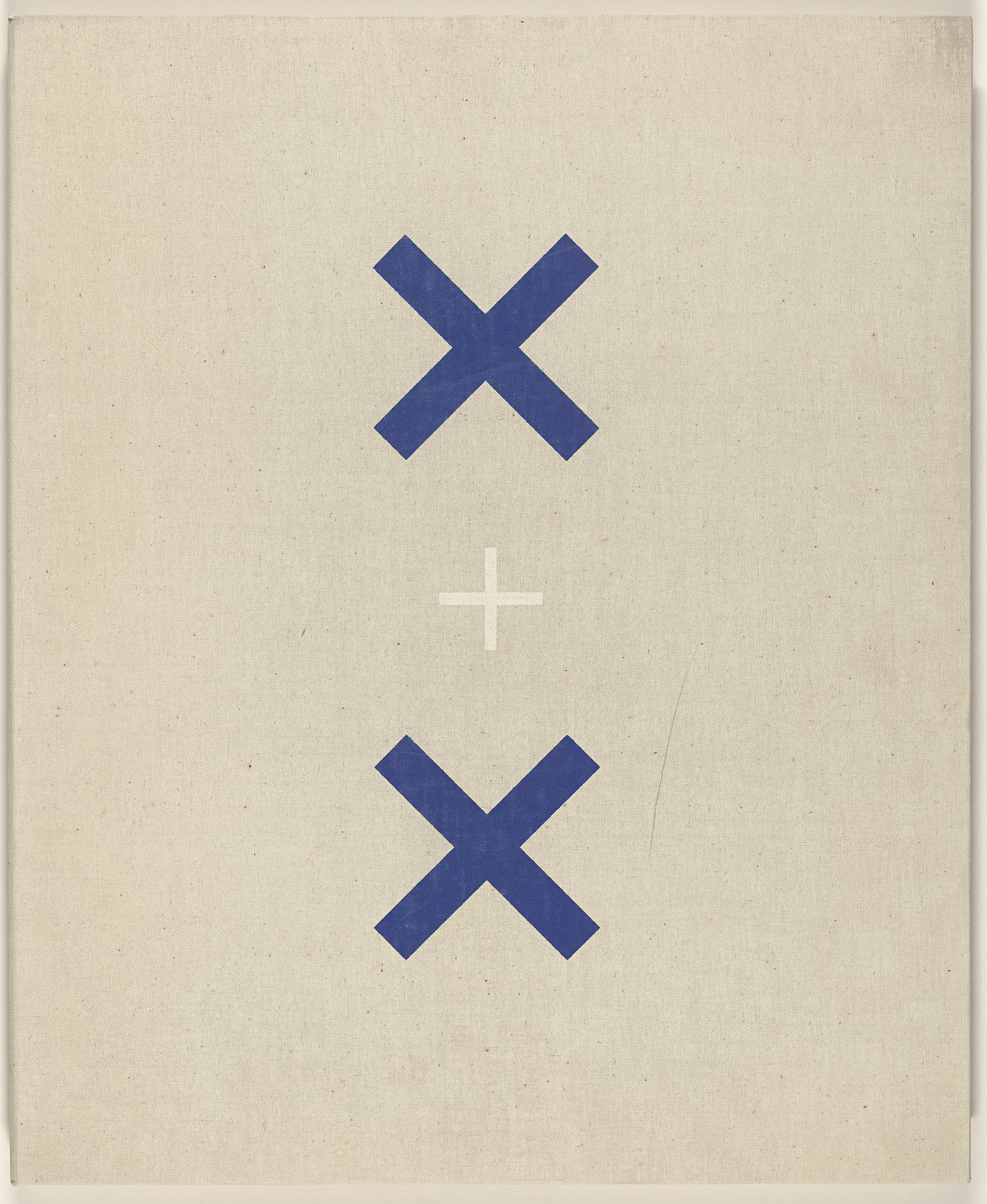 Various Artists, Ad Reinhardt, Robert Indiana, Larry Poons, Roy Lichtenstein, Stuart Davis, Robert Motherwell, Ellsworth Kelly, Frank Stella, Andy Warhol, George Ortman. X + X (Ten Works by Ten Painters). 1964