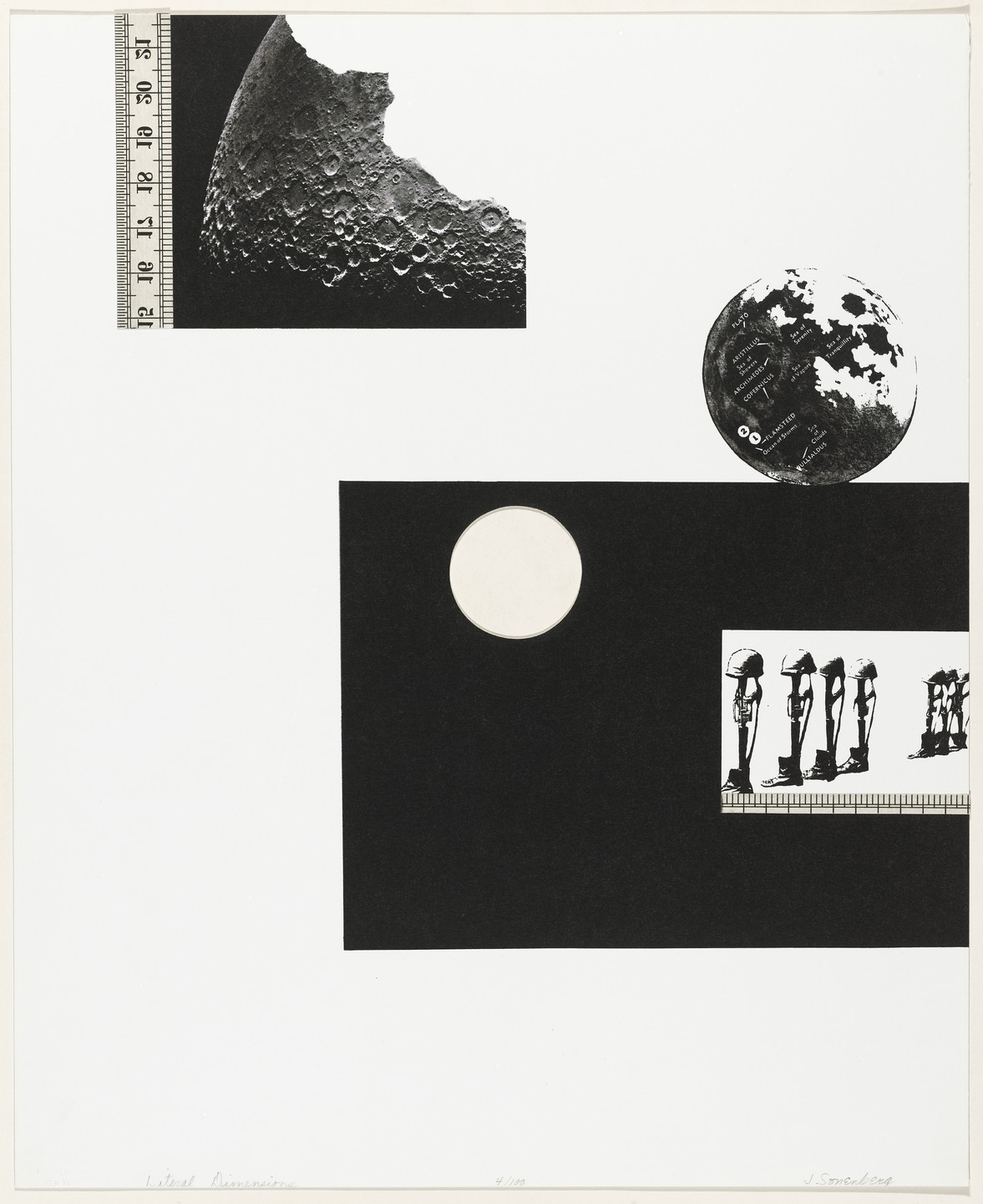 Jack Sonenberg. Literal Dimensions from Artists and Writers Protest against the War in Vietnam. 1967