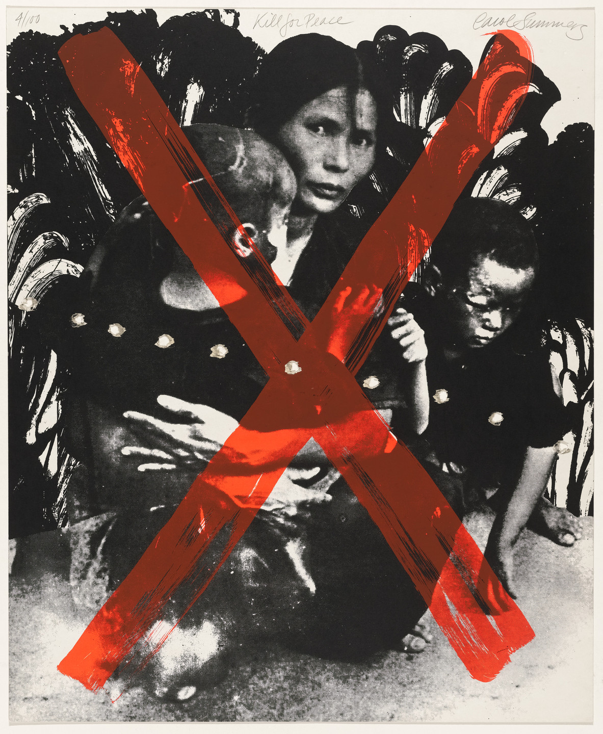 Carol Summers. Kill for Peace from Artists and Writers against the War in Vietnam. 1967