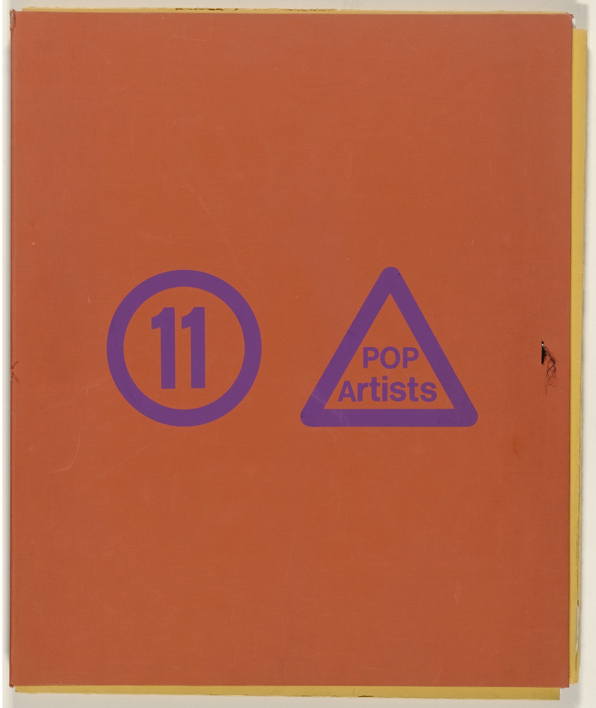 Allan D'Arcangelo, Jim Dine, Allen Jones, Gerald Laing, Roy Lichtenstein, Peter Phillips, Mel Ramos, James Rosenquist, Andy Warhol, John Wesley, Tom Wesselmann, Various Artists. 11 Pop Artists. 1966