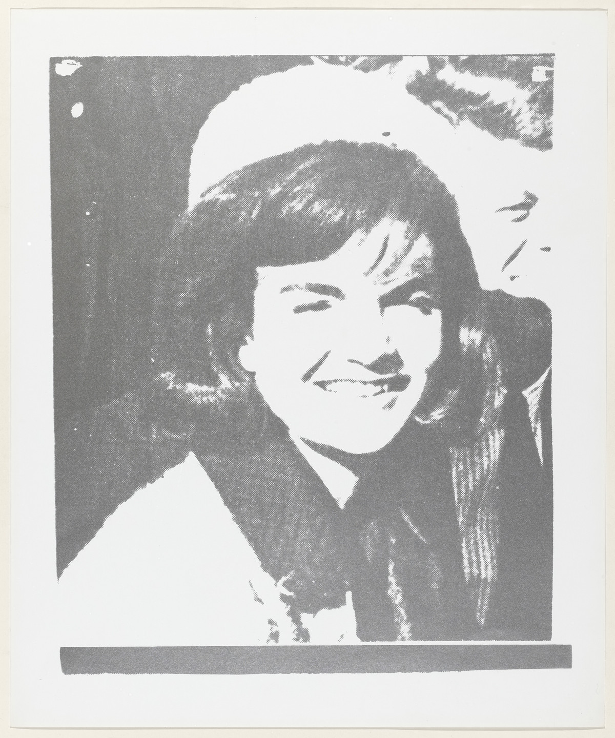 Andy Warhol. Jacqueline Kennedy I from 11 Pop Artists, Volume I. 1965, published 1966