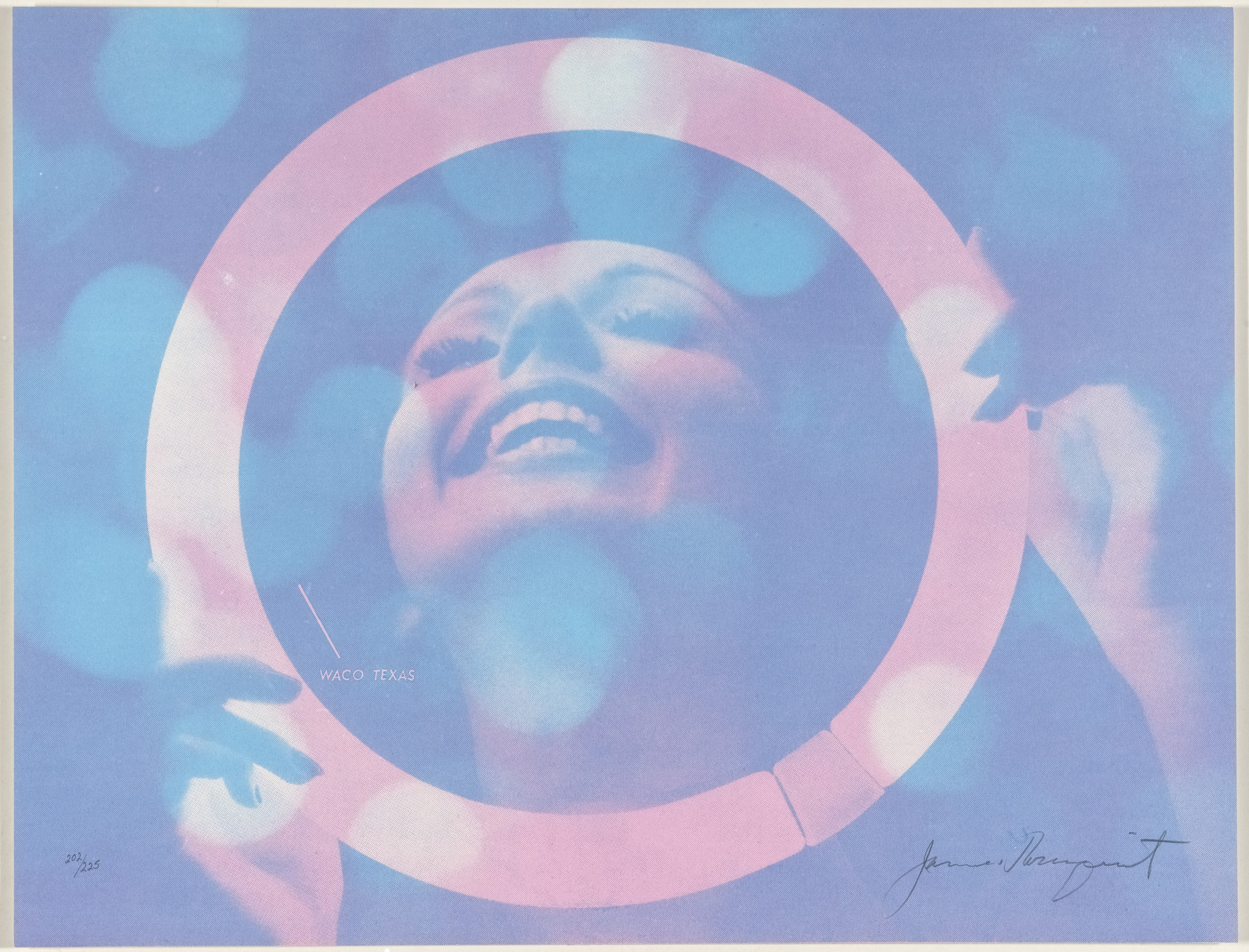 James Rosenquist. Somewhere to Light from New York International. 1966