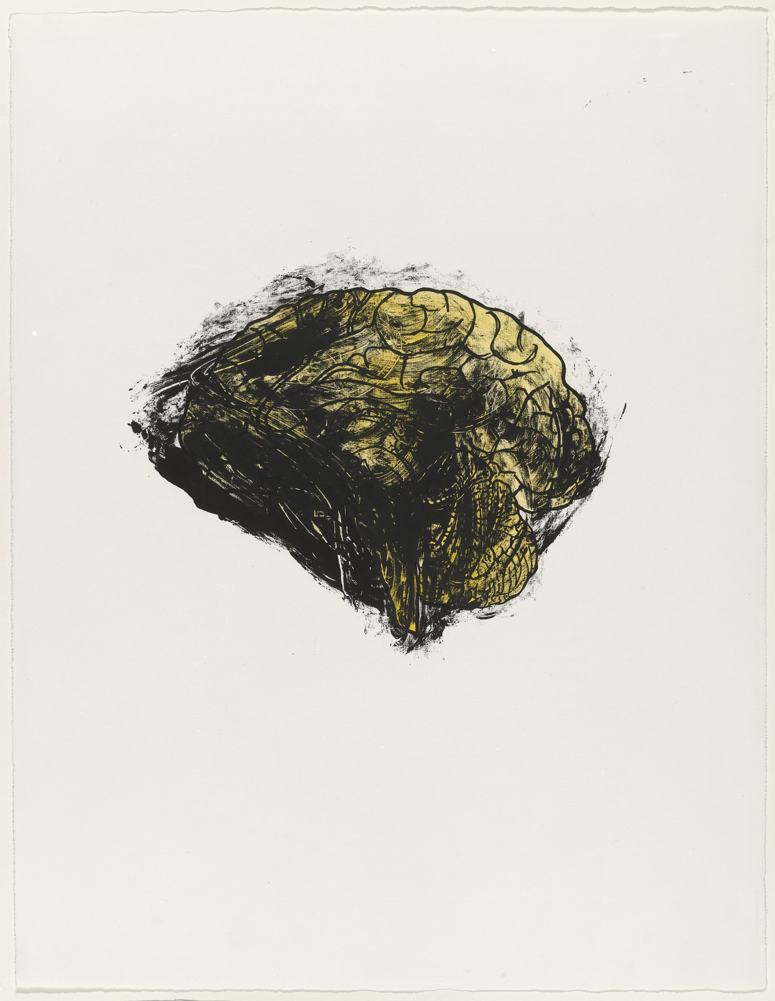 Kiki Smith. Brain from Possession Is Nine-Tenths of the Law. 1985