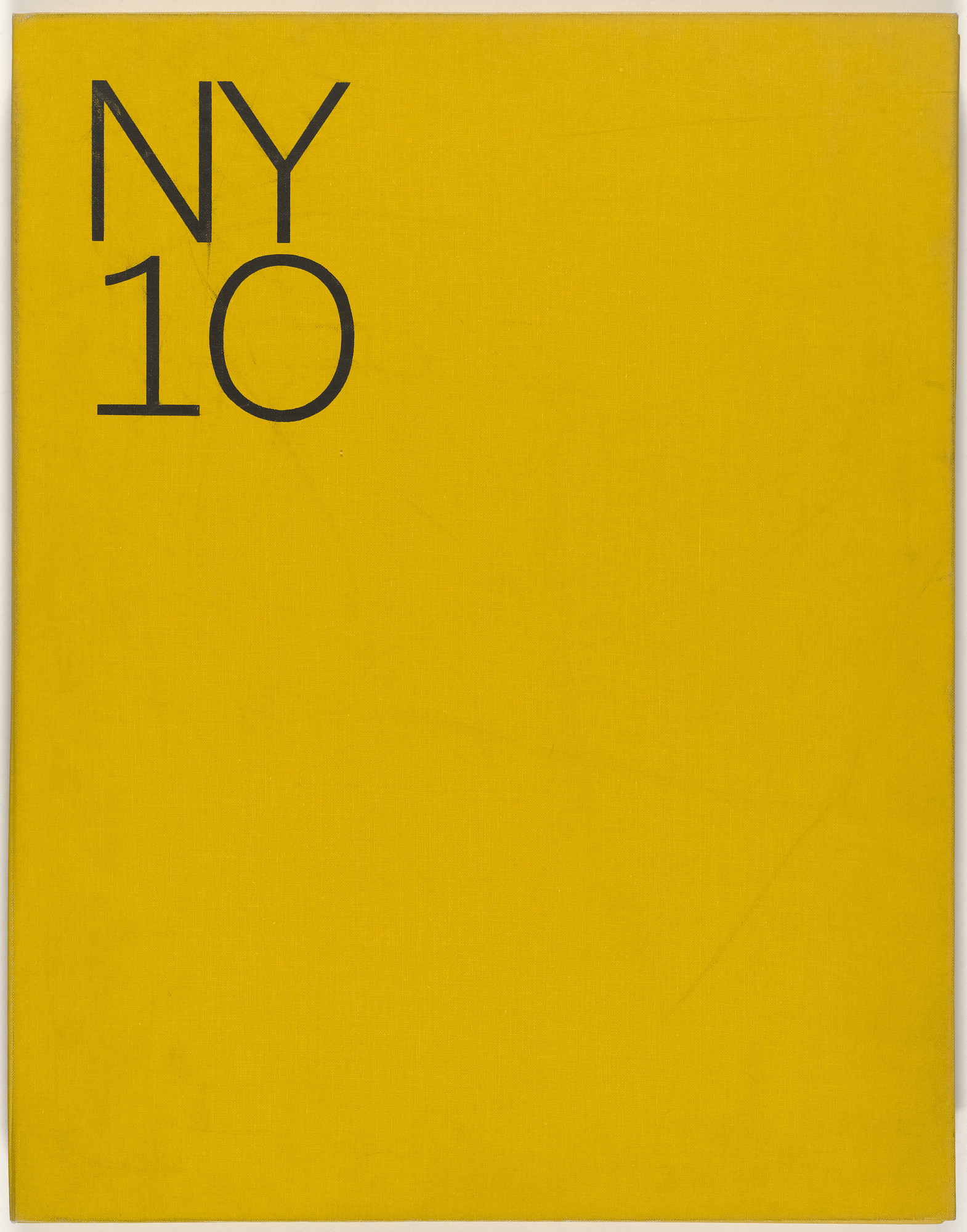 Various Artists, Tom Wesselmann, George Segal, Claes Oldenburg, Roy Lichtenstein, Mon Levinson, Robert Kulicke, Nicholas Krushenick, Helen Frankenthaler, Jim Dine, Richard Anuszkiewicz. New York Ten. 1964–65, published 1965