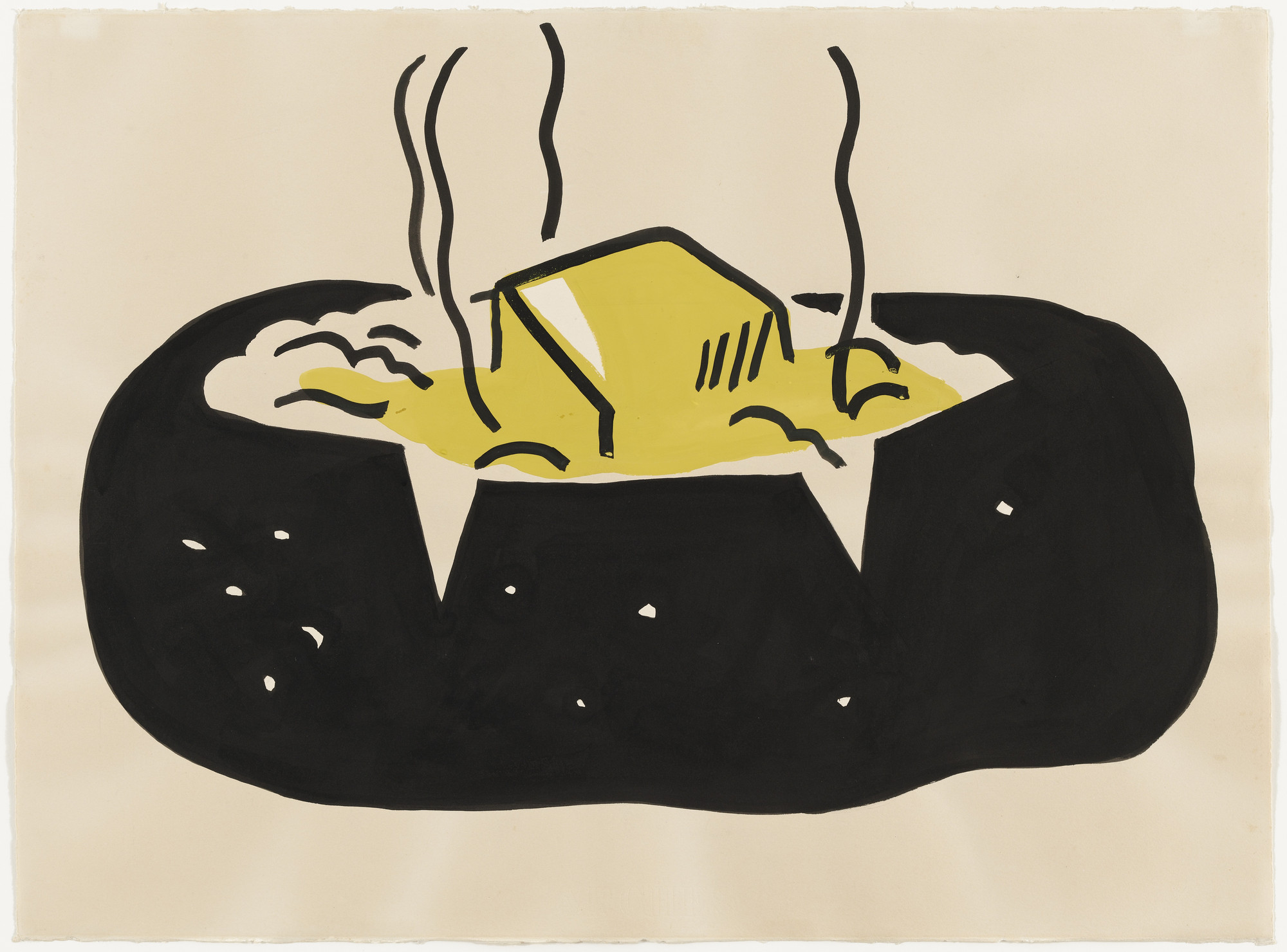 Roy Lichtenstein. Baked Potato. 1962